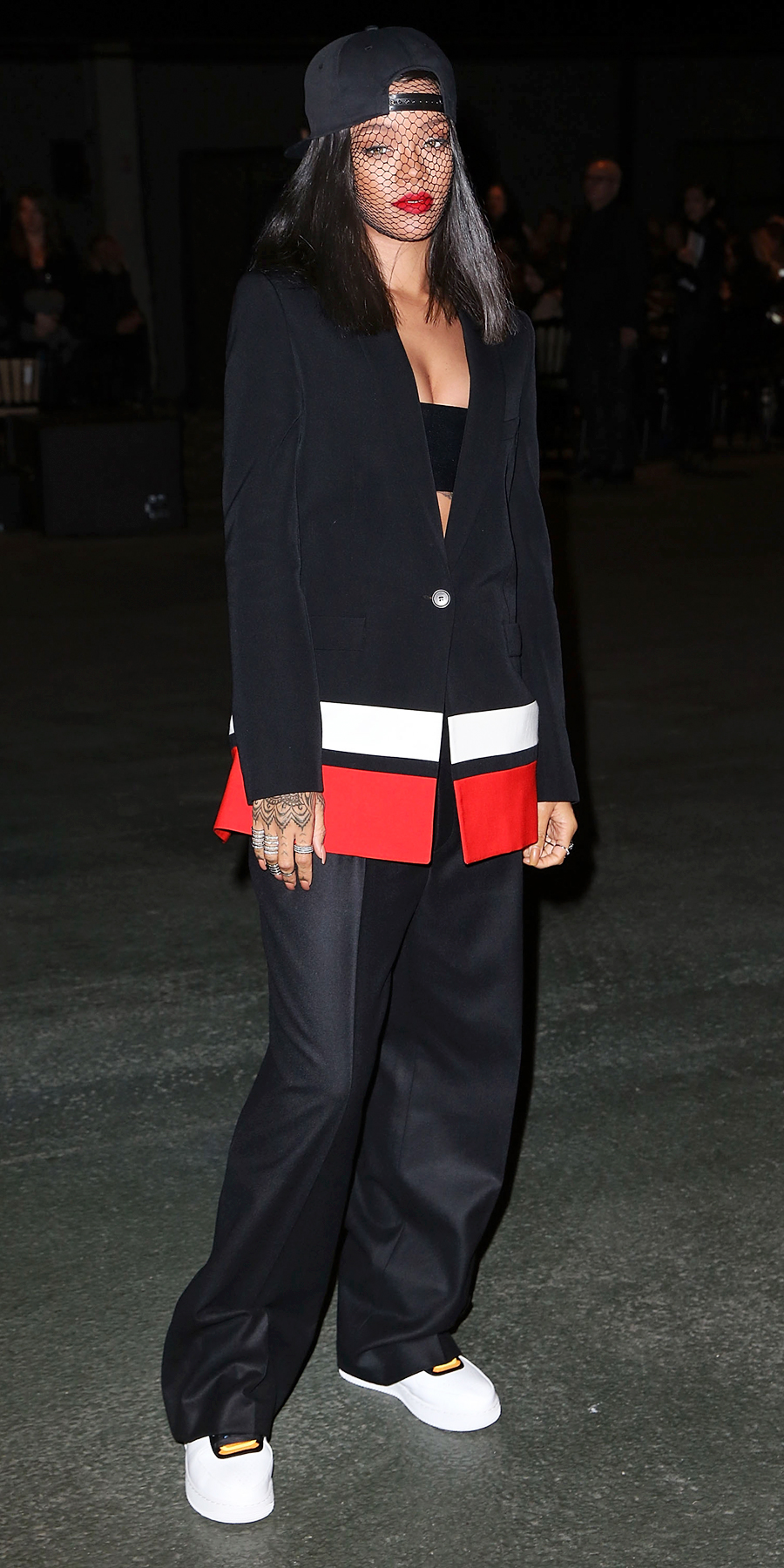 In Givenchy by Riccardo Tisci in Paris (2014)