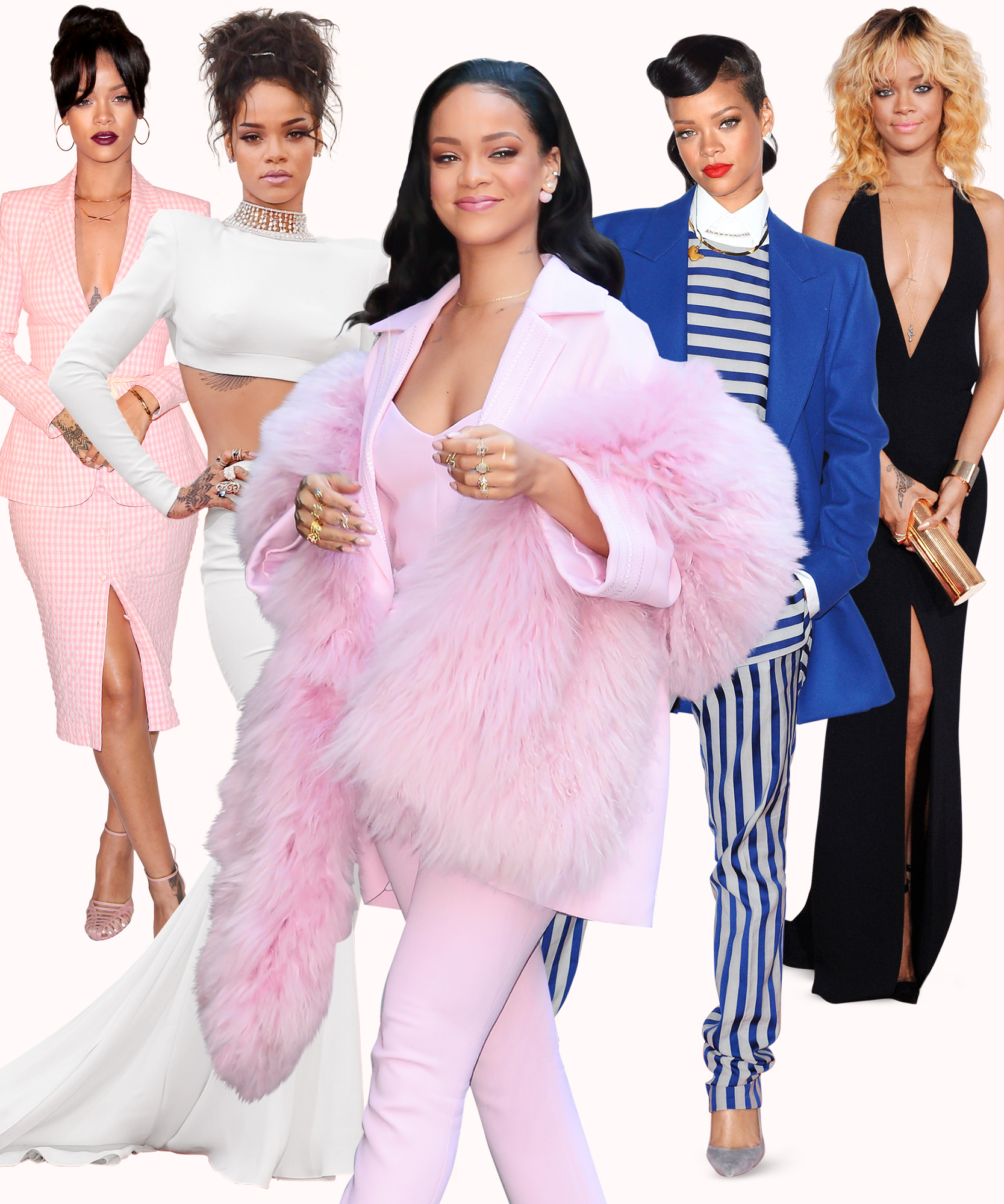 14 Looks That Made Rihanna an International Fashion Icon