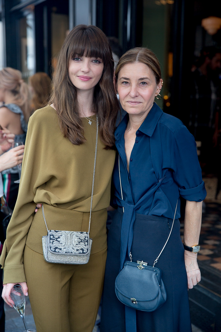 <p>Annabelle Belmondo and Tibi Creative Director Amy Smilovic</p>