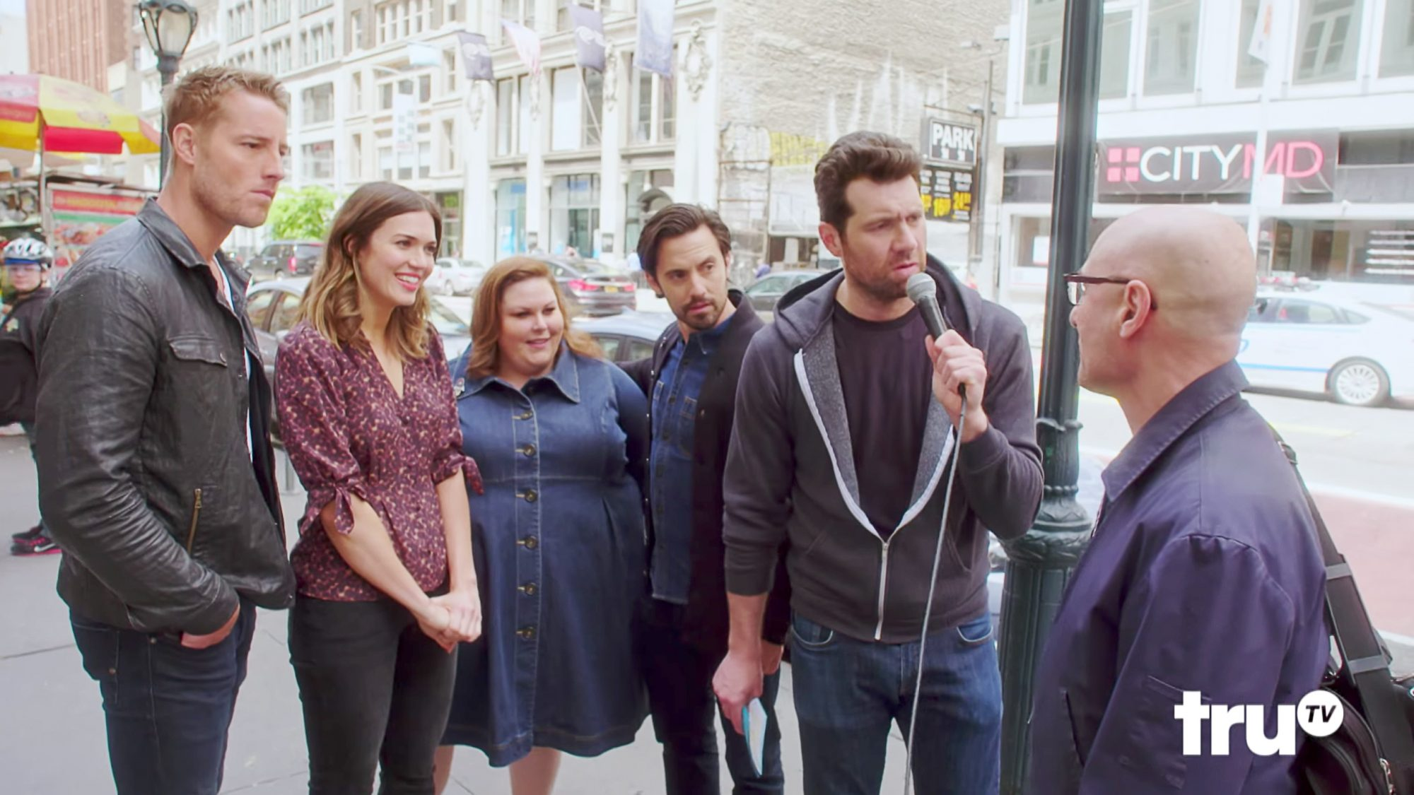 Hilarity Ensues When the Cast of <em>This Is Us</em> Hits the Street with Billy Eichner
