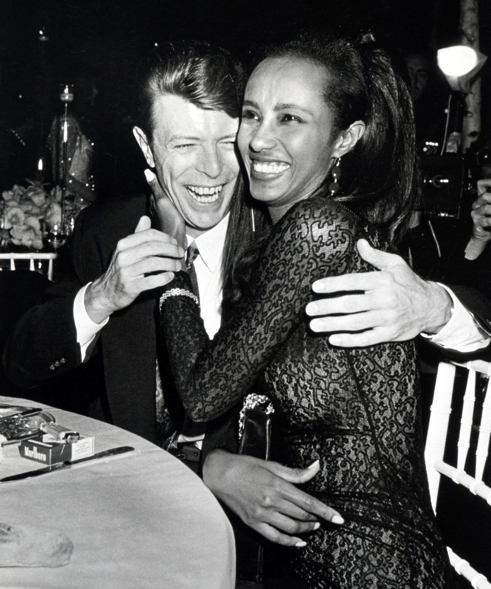 Iman's Anniversary Tribute to the Late David Bowie Made Us Tear Up
