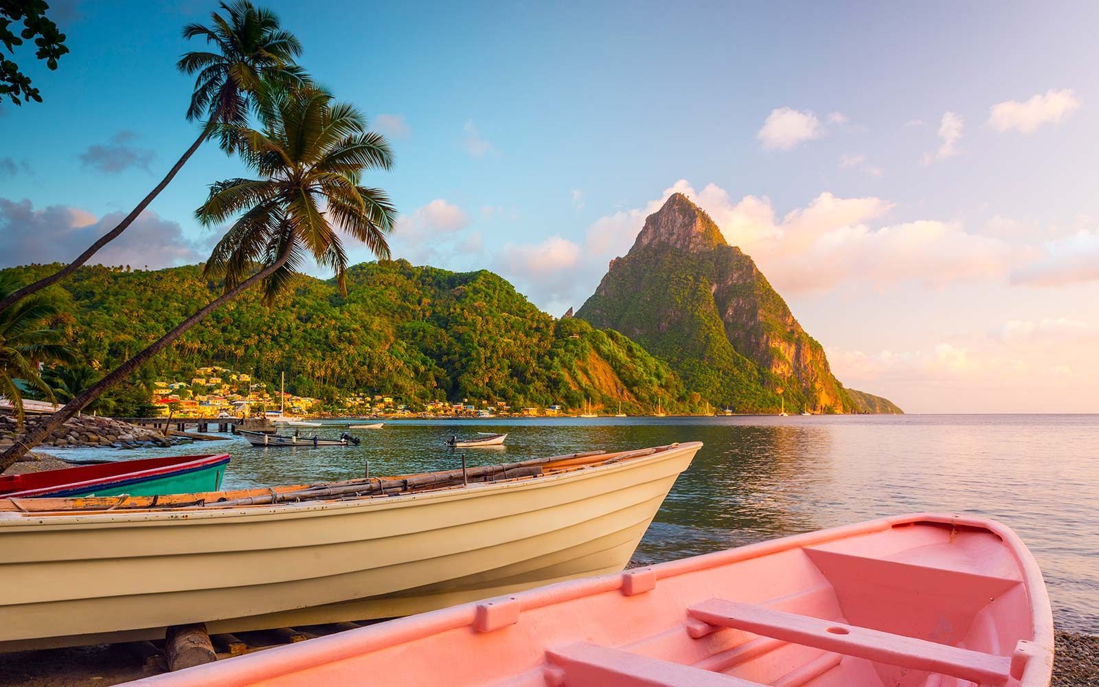 Caribbean St Lucia Soufriere Bay