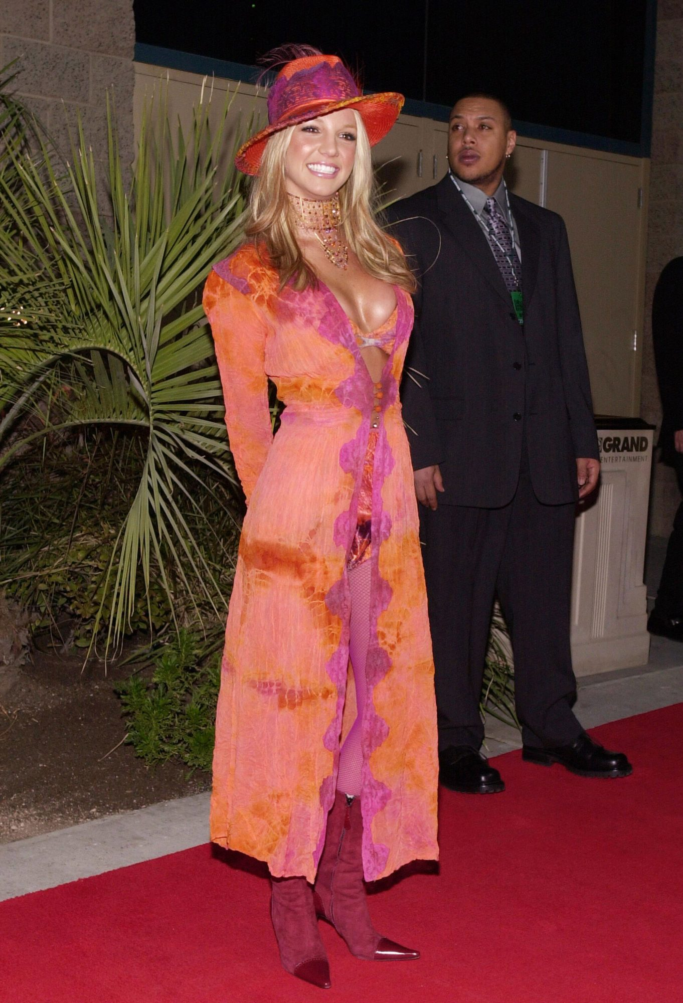 <p>Britney Spears at the 2000 Billboard Music Awards</p>