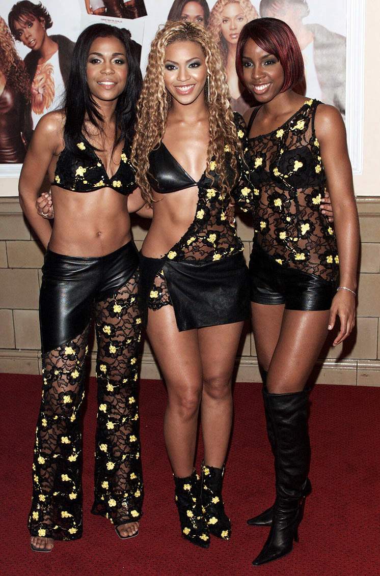 "<p>Destiny's Child at London ""Survivor"" lauch Party in 2001</p>"