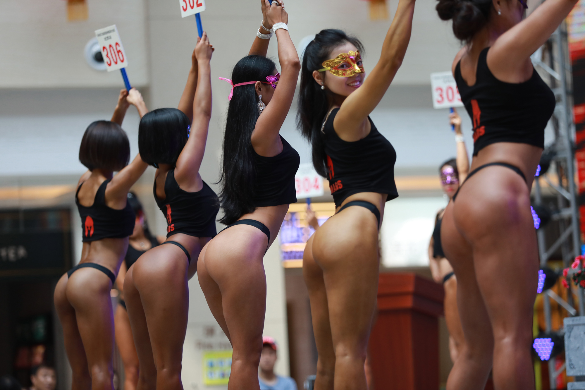 see photos from the women's beautiful butt competition | instyle