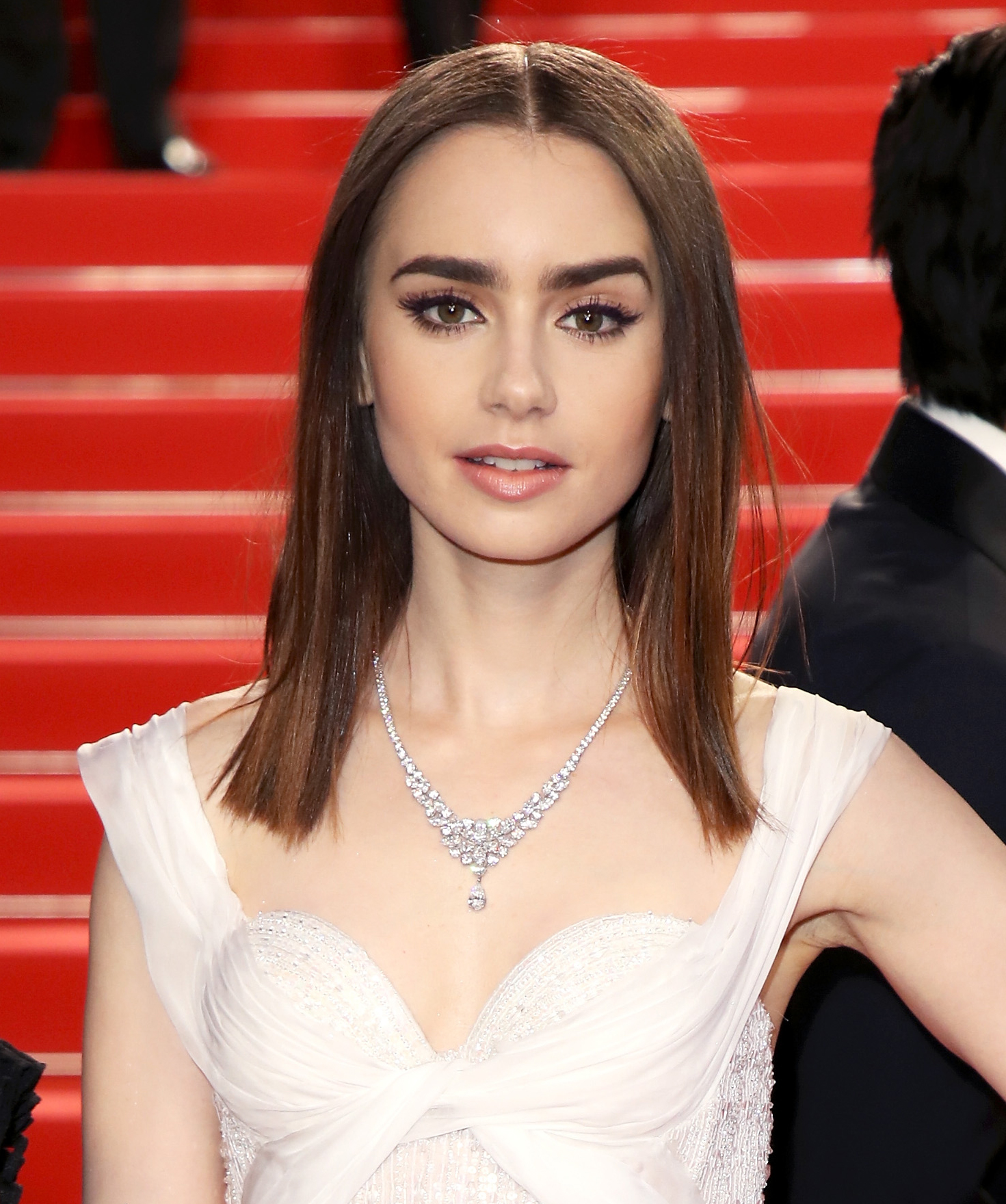 """Lily Collins Was Told She """"Looked Great"""" While Playing an Anorexia Patient"""