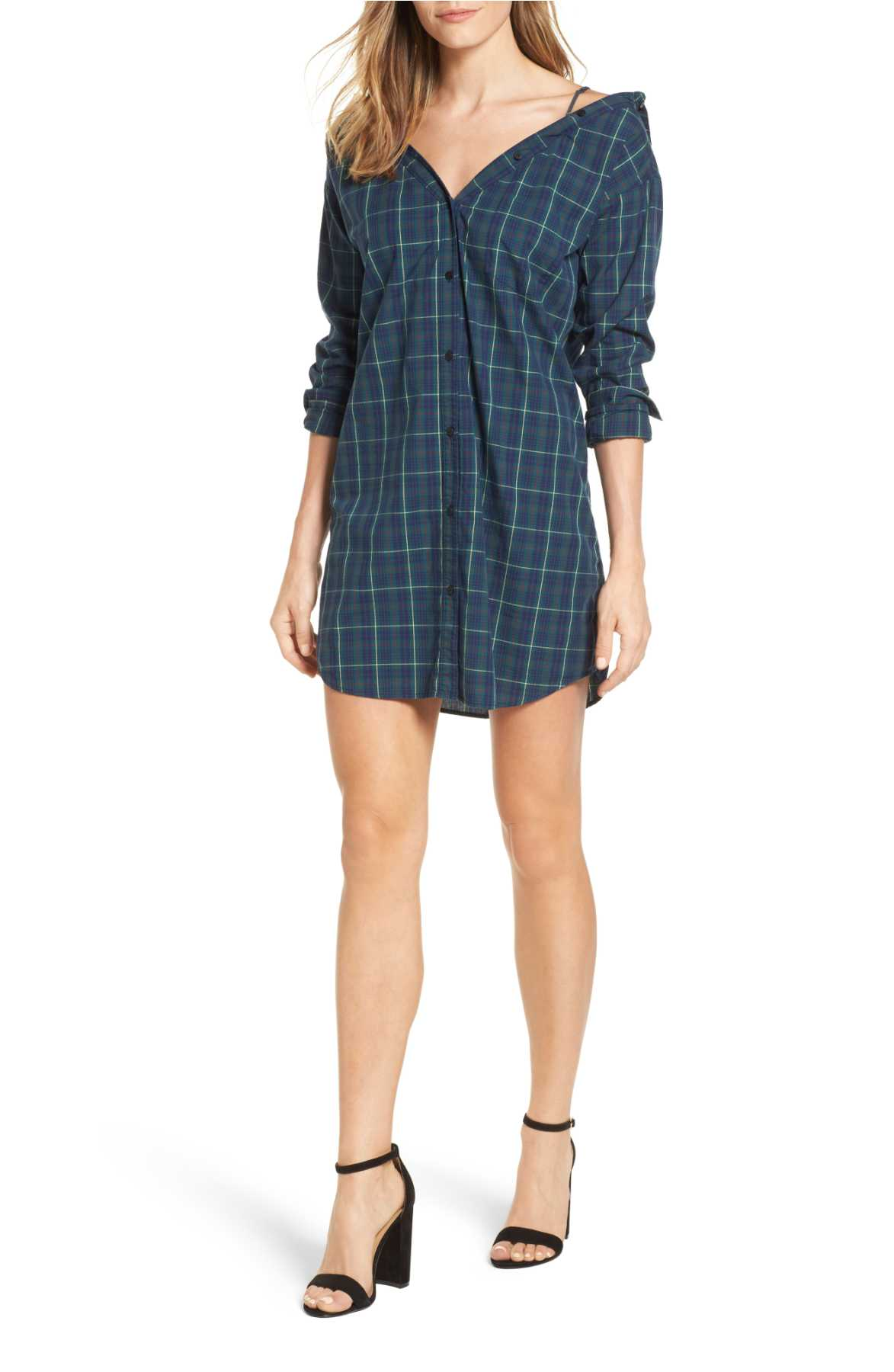 <p>Anglin Off Shirtdress</p>