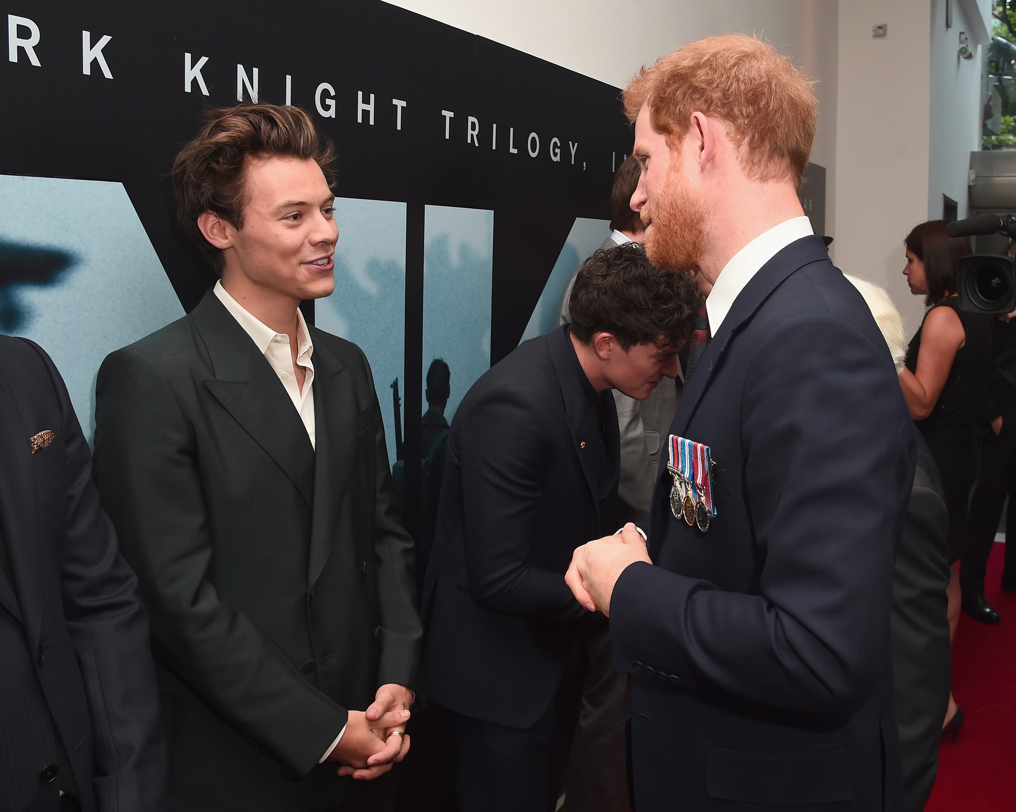 Imagine Yourself in the Middle of This Harry Styles and Prince Harry Sandwich