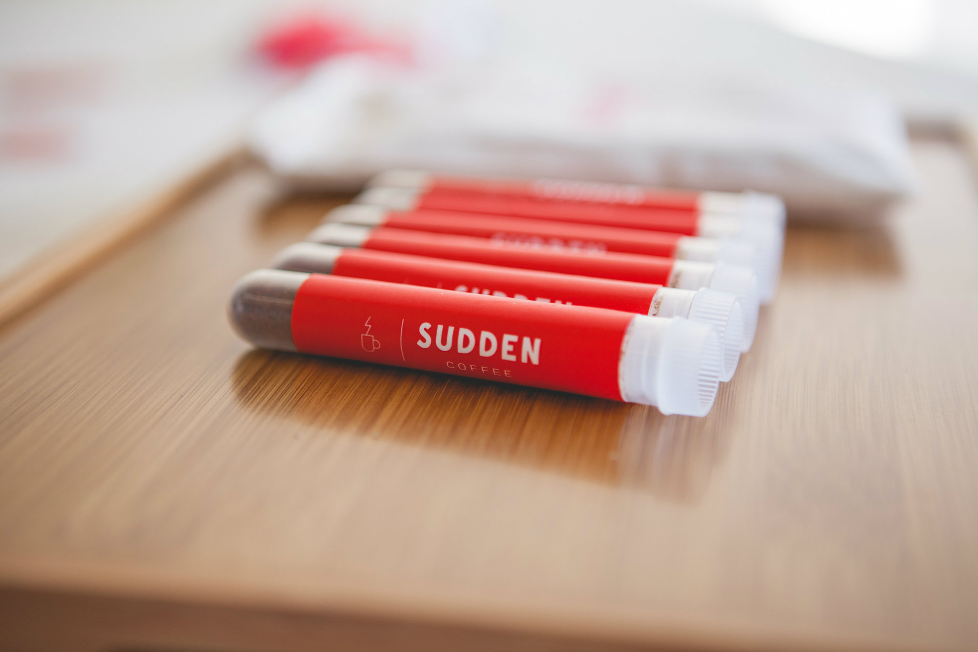 <p>Sudden Coffee Tubes</p>