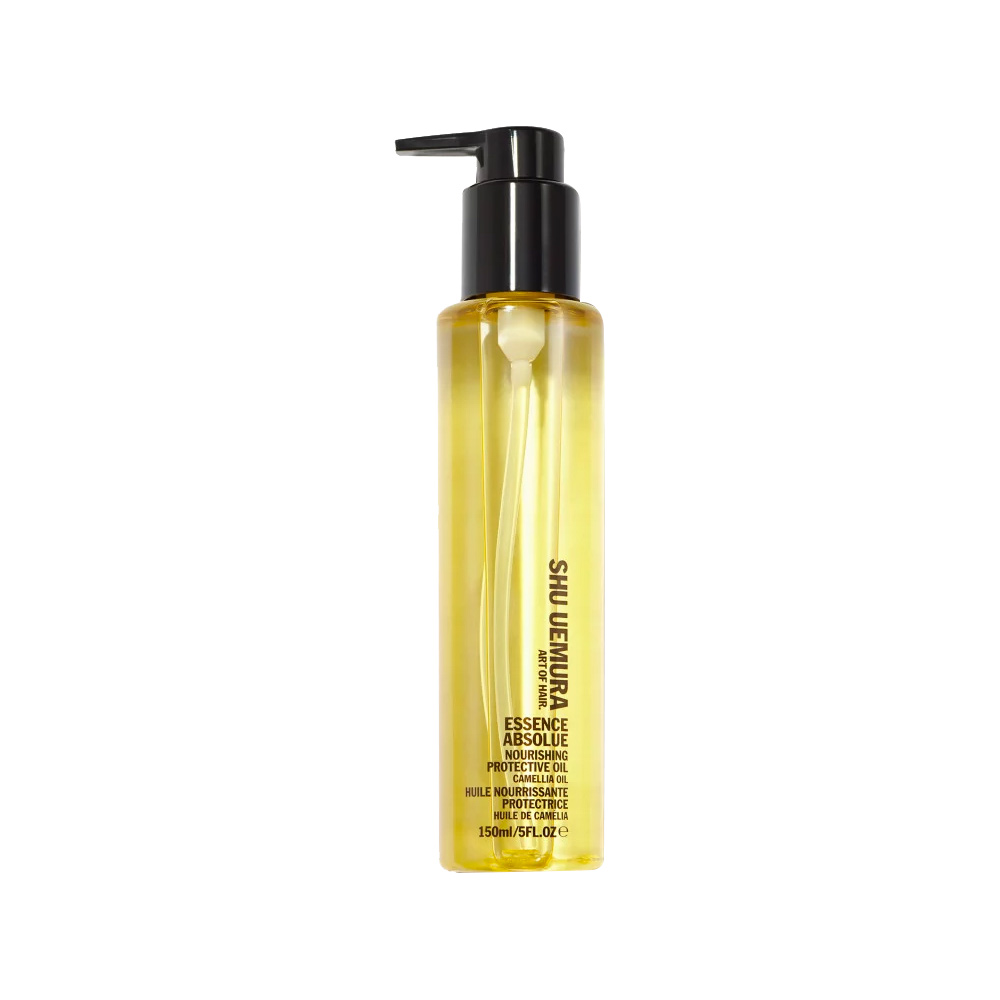 <p>For Thick Hair: Shu Uemura Art of Hair Essence Absolue Nourishing Protective Oil </p>