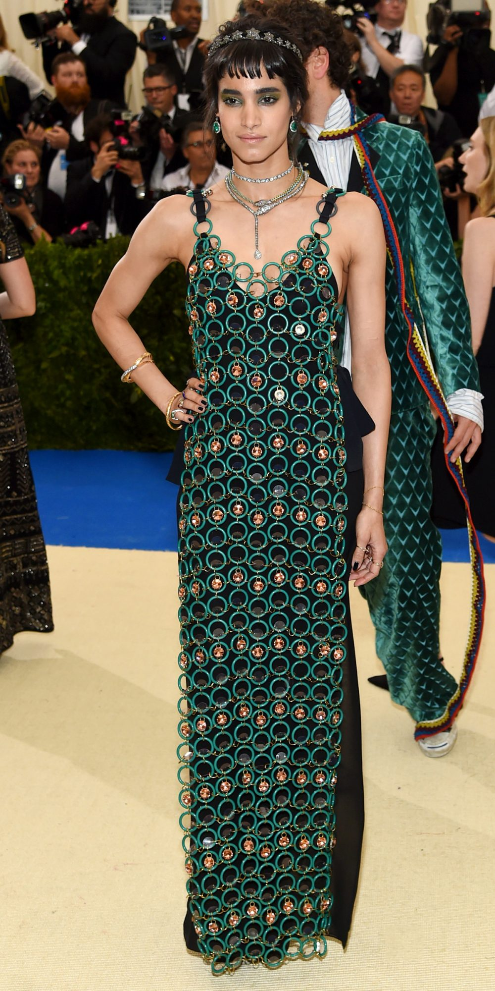 <p><strong>In Marni at the Met Gala in New York City</strong></p>