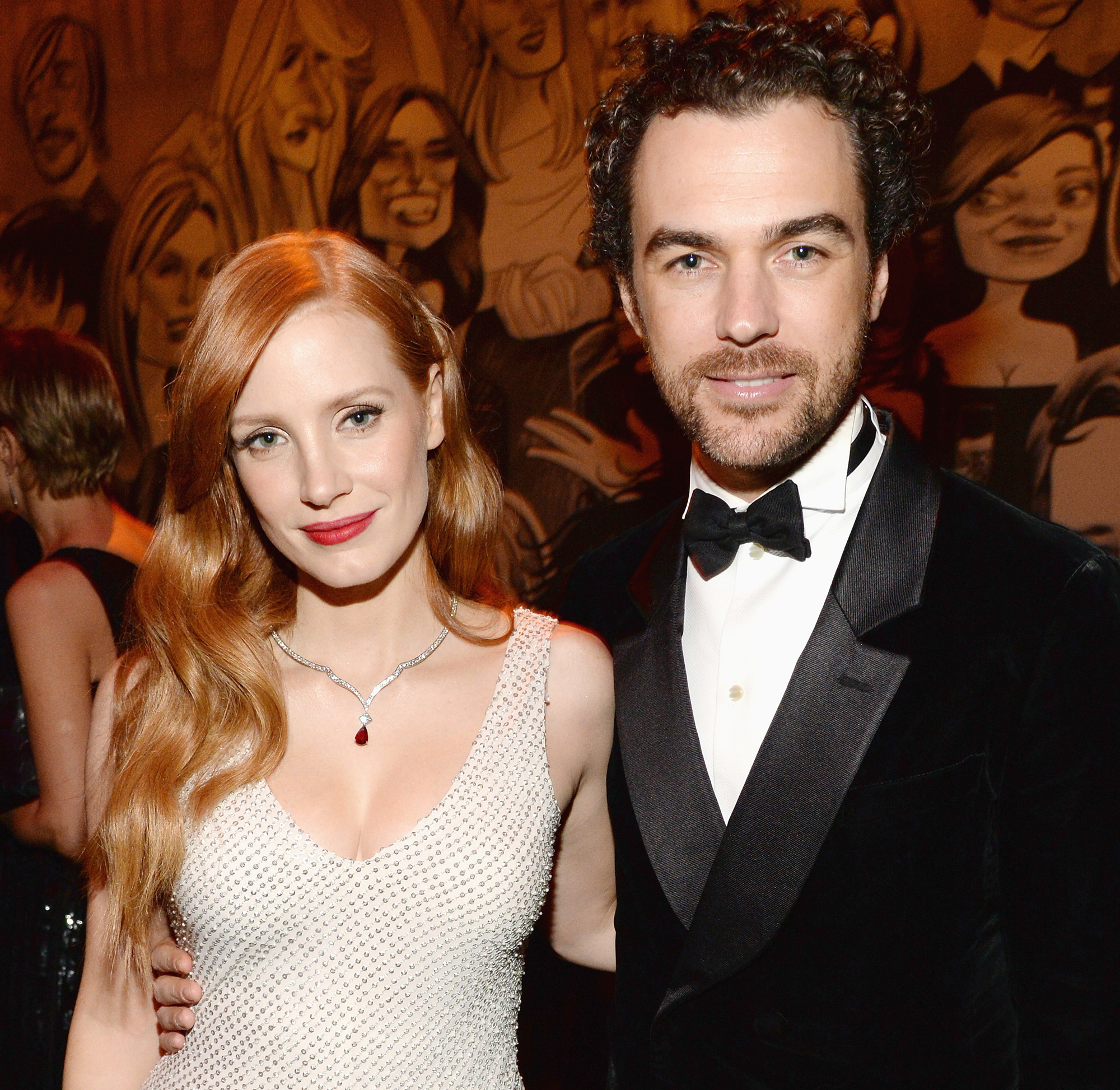 Newlywed Jessica Chastain Shows Off Her Stunning Ring In NYC