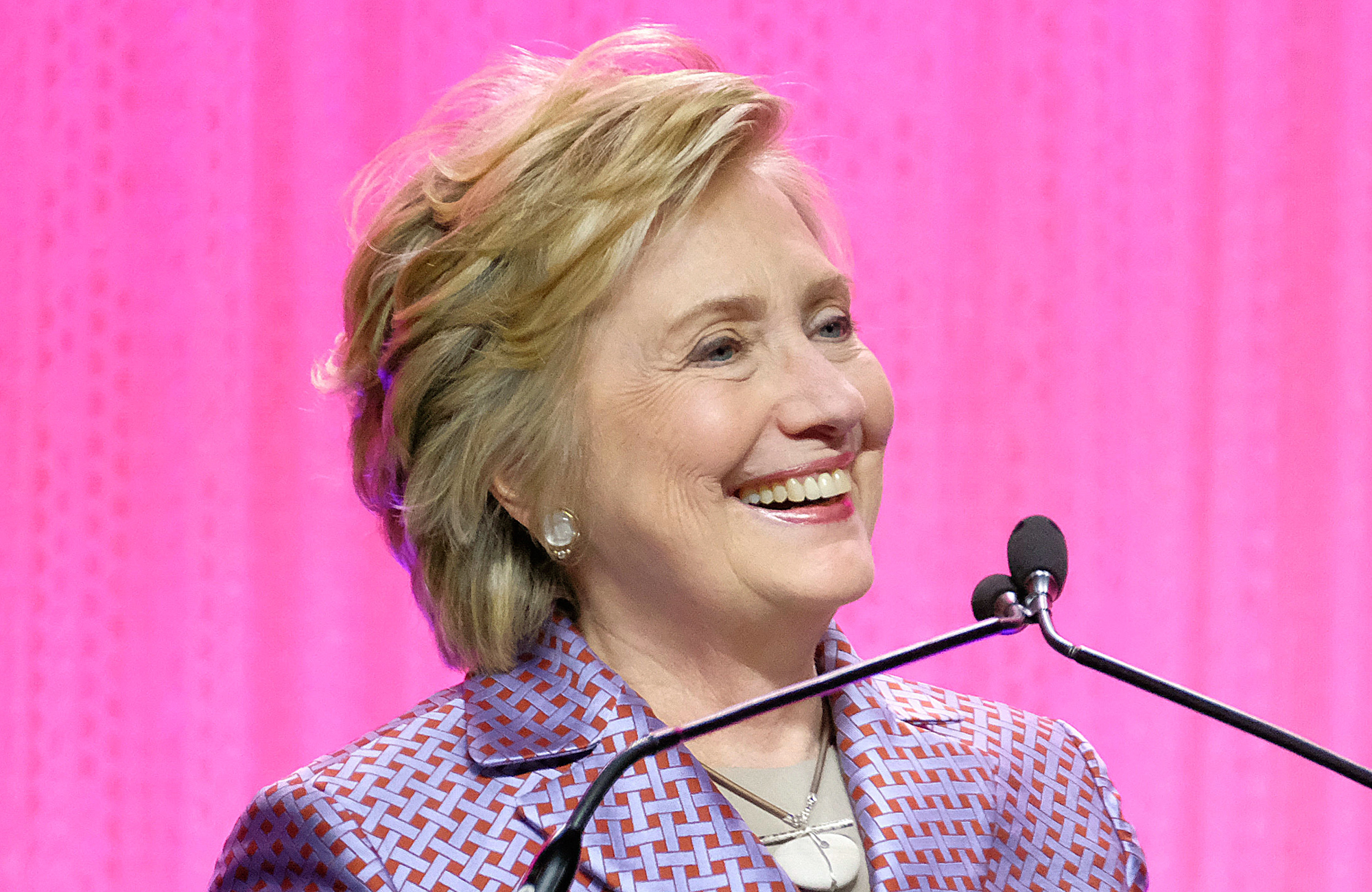 Hillary Clinton's Favorite New Pantsuit Comes from a Brand Co-Founded by Two Millennial Women