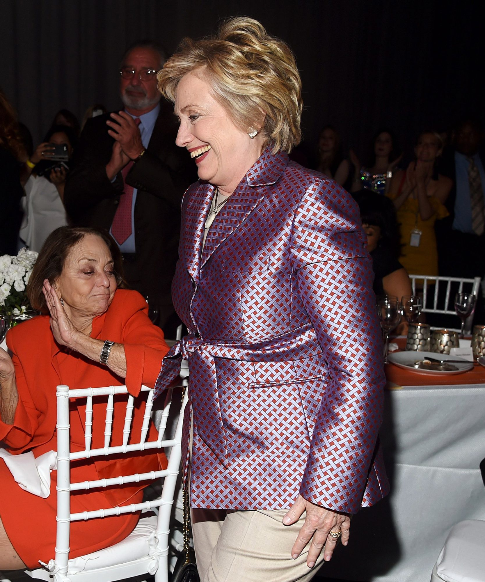 Hillary Clinton Pantsuit - Embed