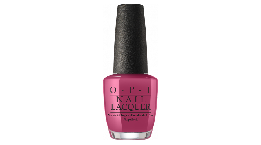 <p>OPI Iceland Collection Classic Nail Lacquer in Aurora Berry </p>