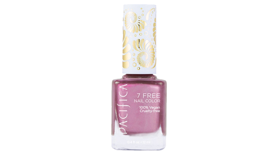 Pacifica 7 Free Nail Polish in Pink Metal