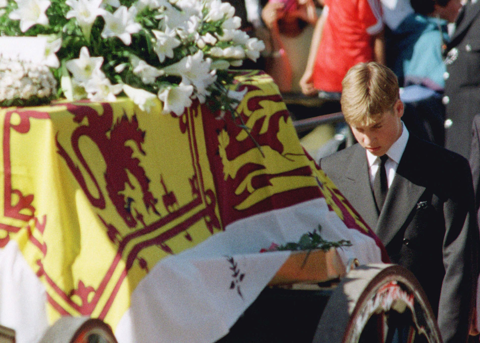 Prince William - Diana Funeral - Embed