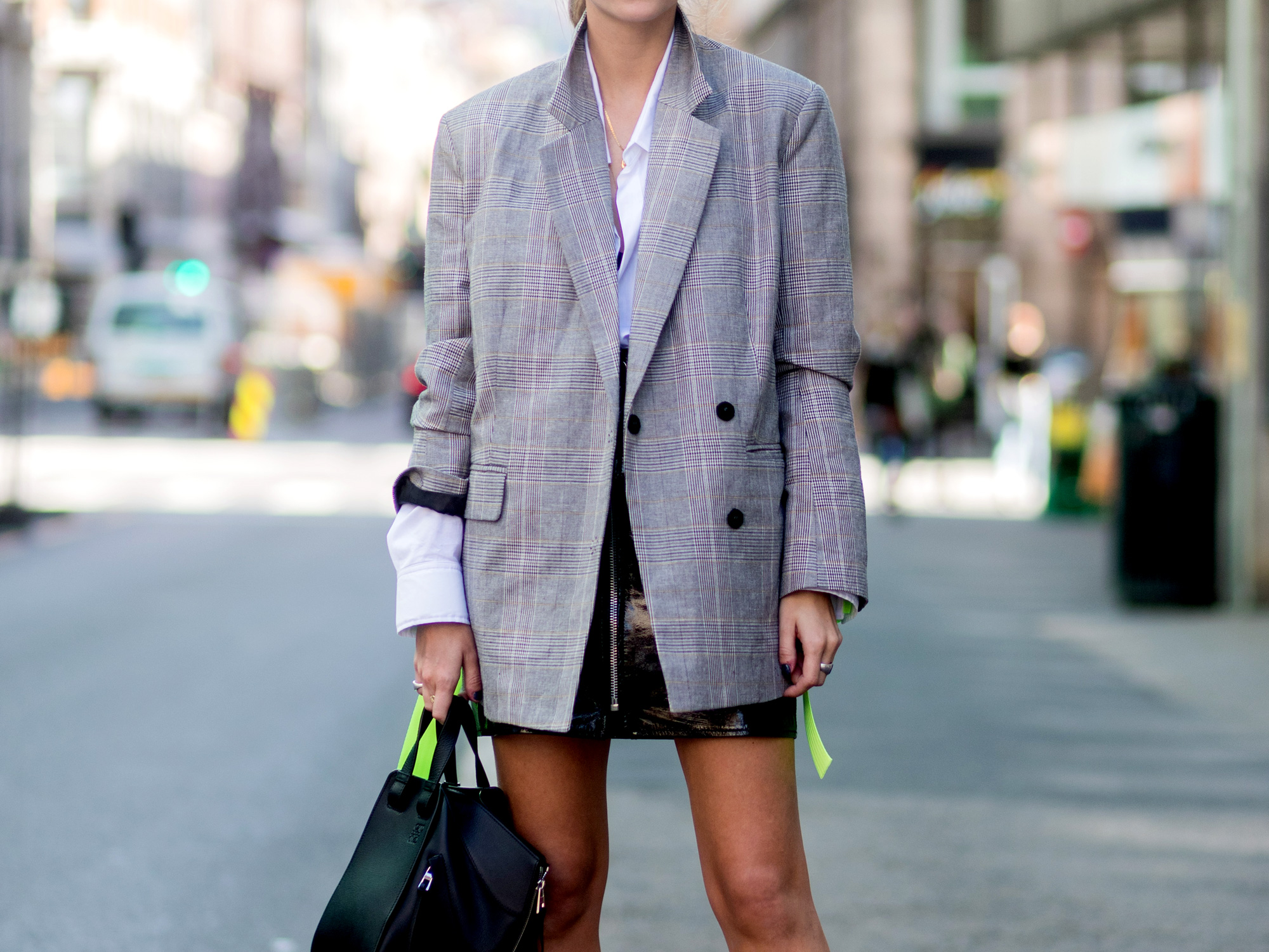 Oversized Blazer - LEAD