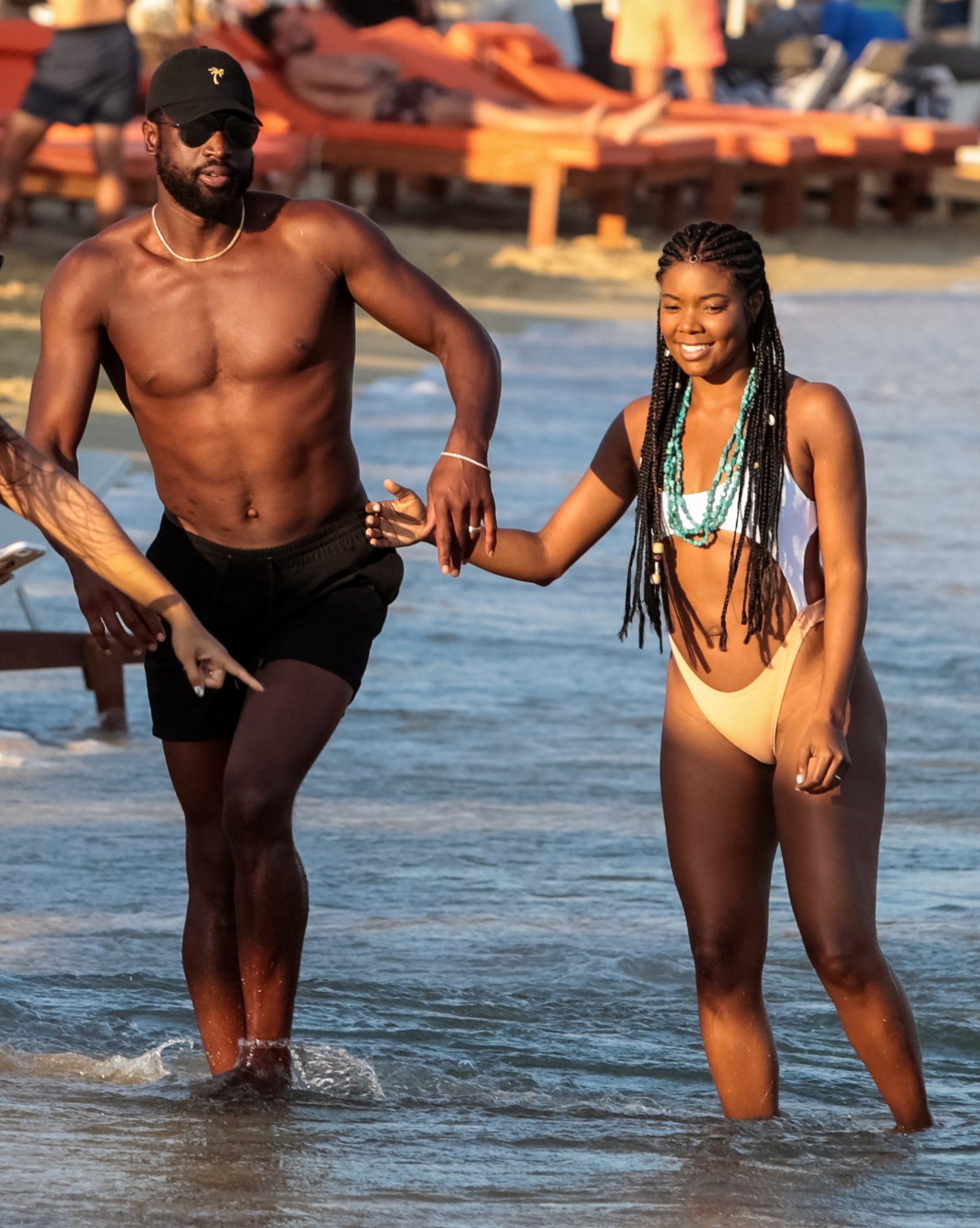 Gabrielle Union and Dwayne Wade celebrate anniversary in Greece