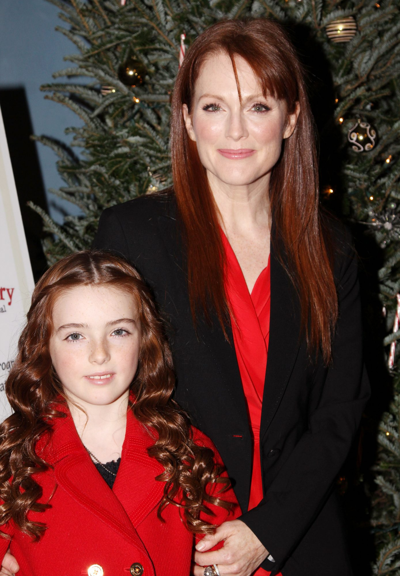 <p>When they dared to match in red.</p>