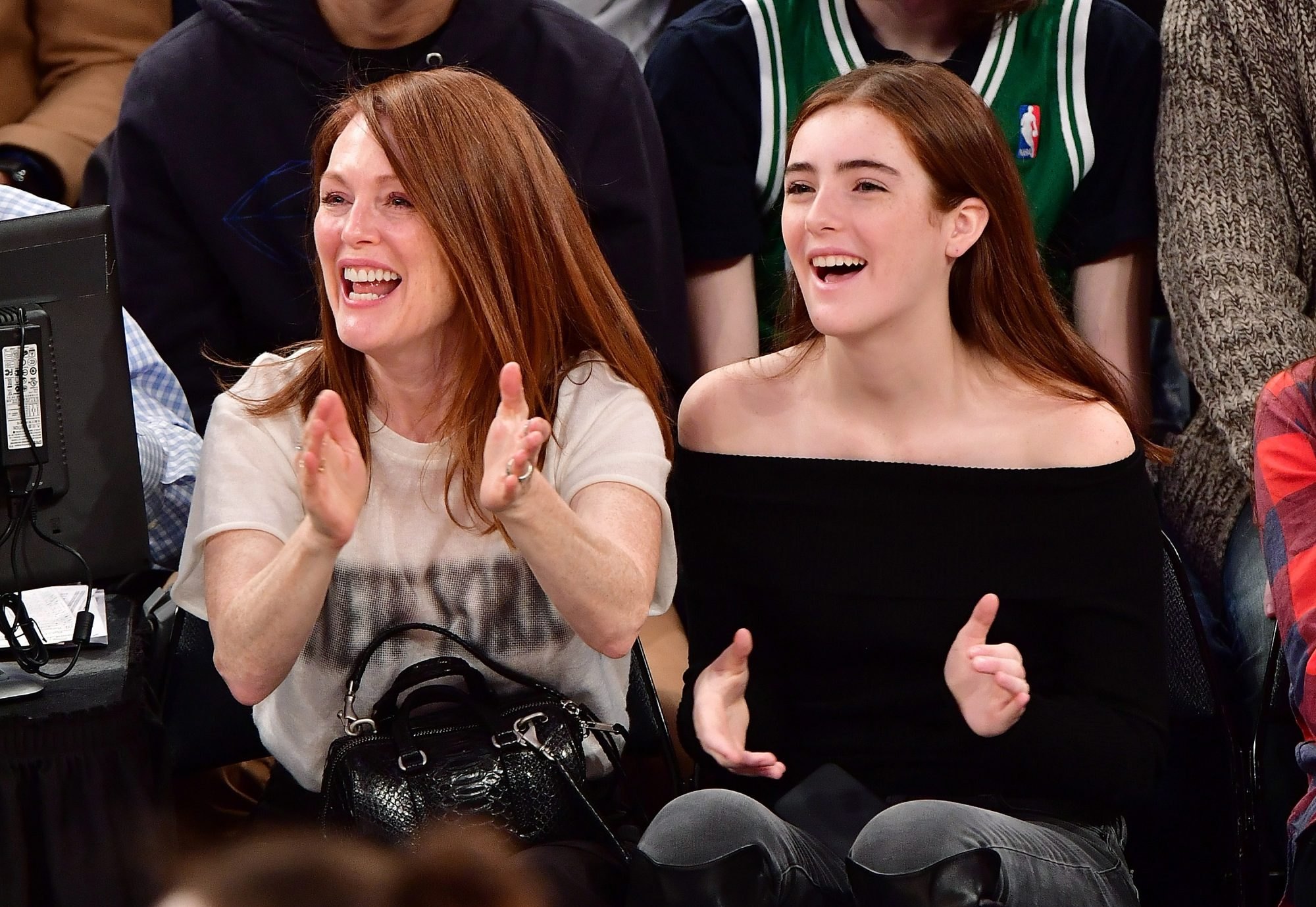 <p>When they twinned at a basketball game.</p>