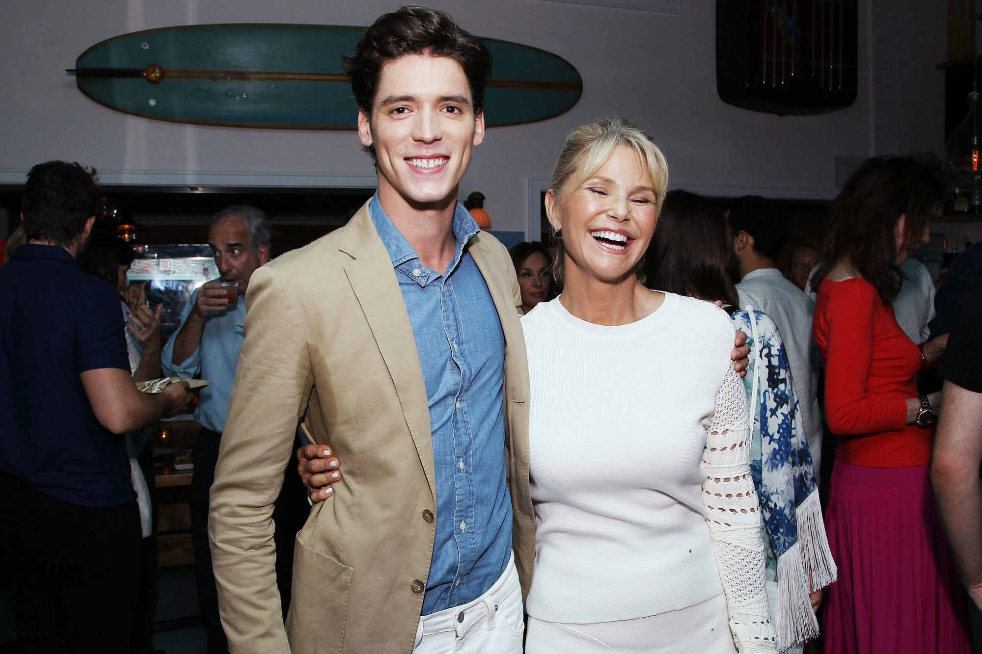 Pico Alexander and Christie Brinkley