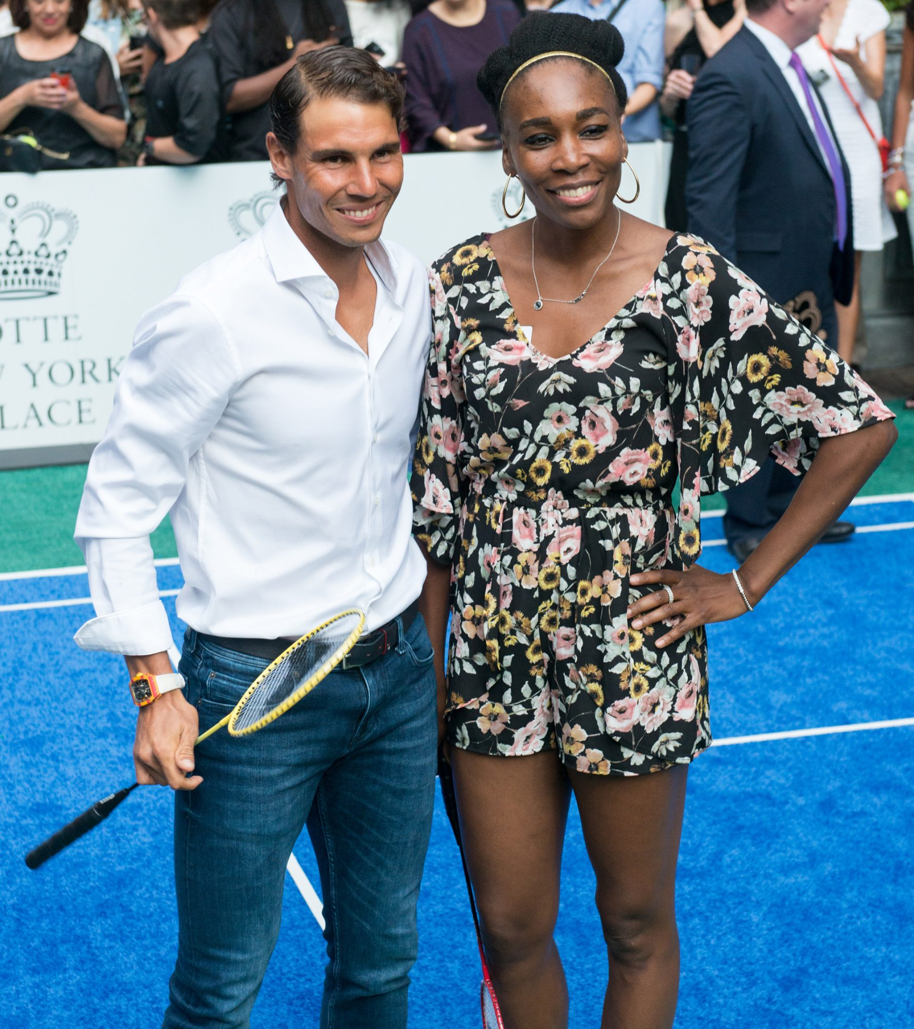 Rafael Nadal and Venus Williams