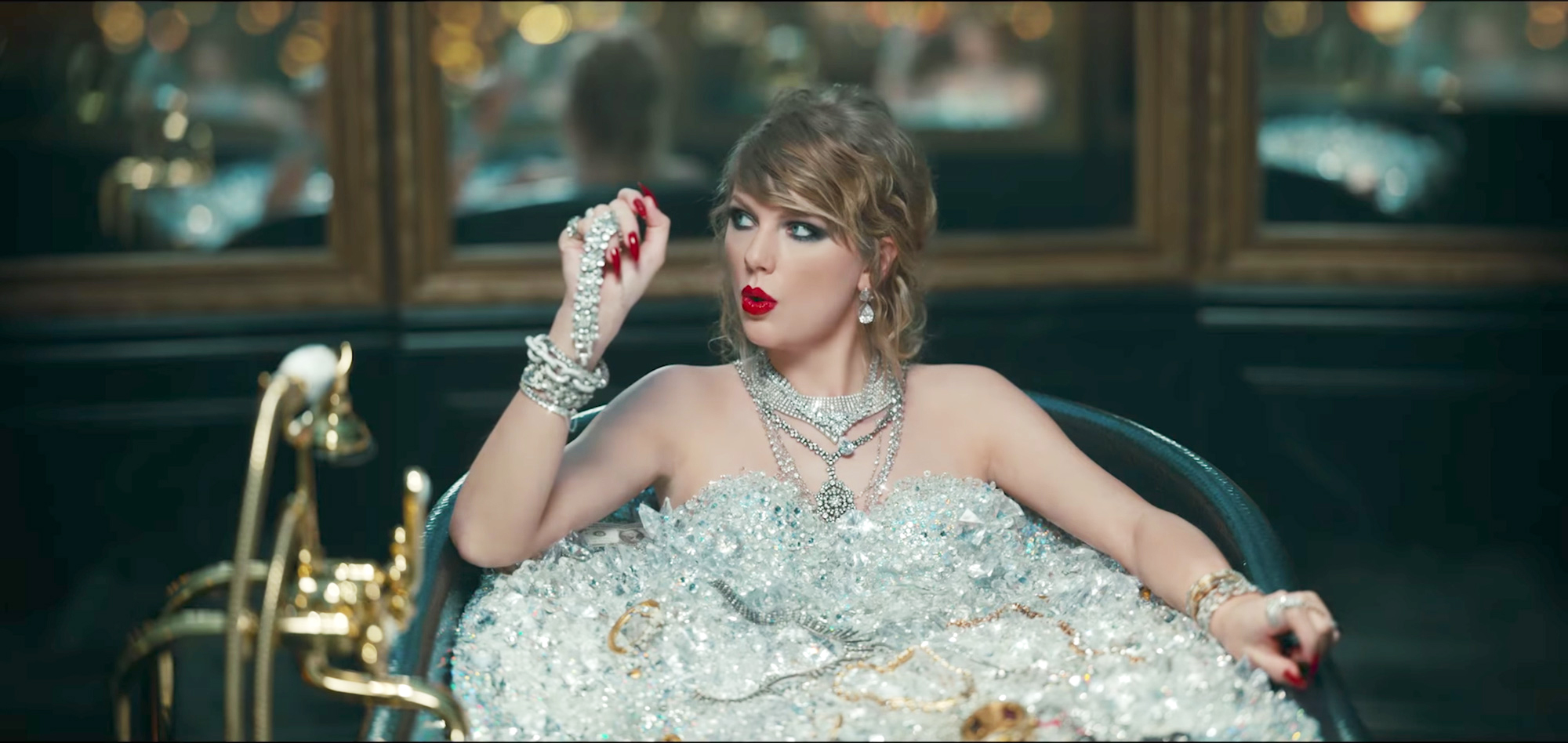 "The 20 Craziest Easter Eggs from Taylor Swift's ""Look What You Made Me Do"" Music Video"