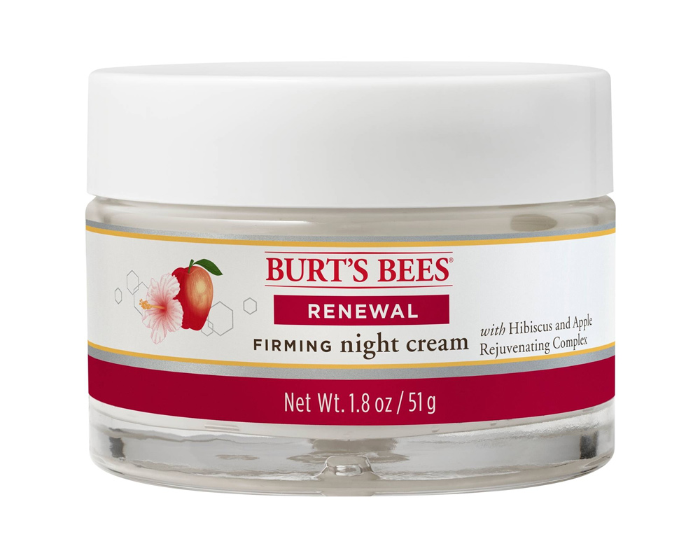 <p>Burt's Bees Renewal Night Cream </p>