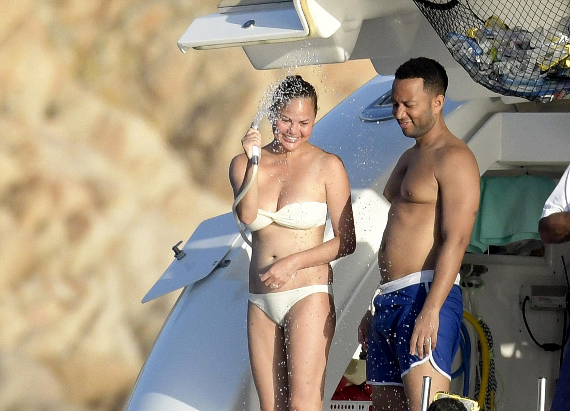<p>Chrissy Teigen John Legend Vacation</p>