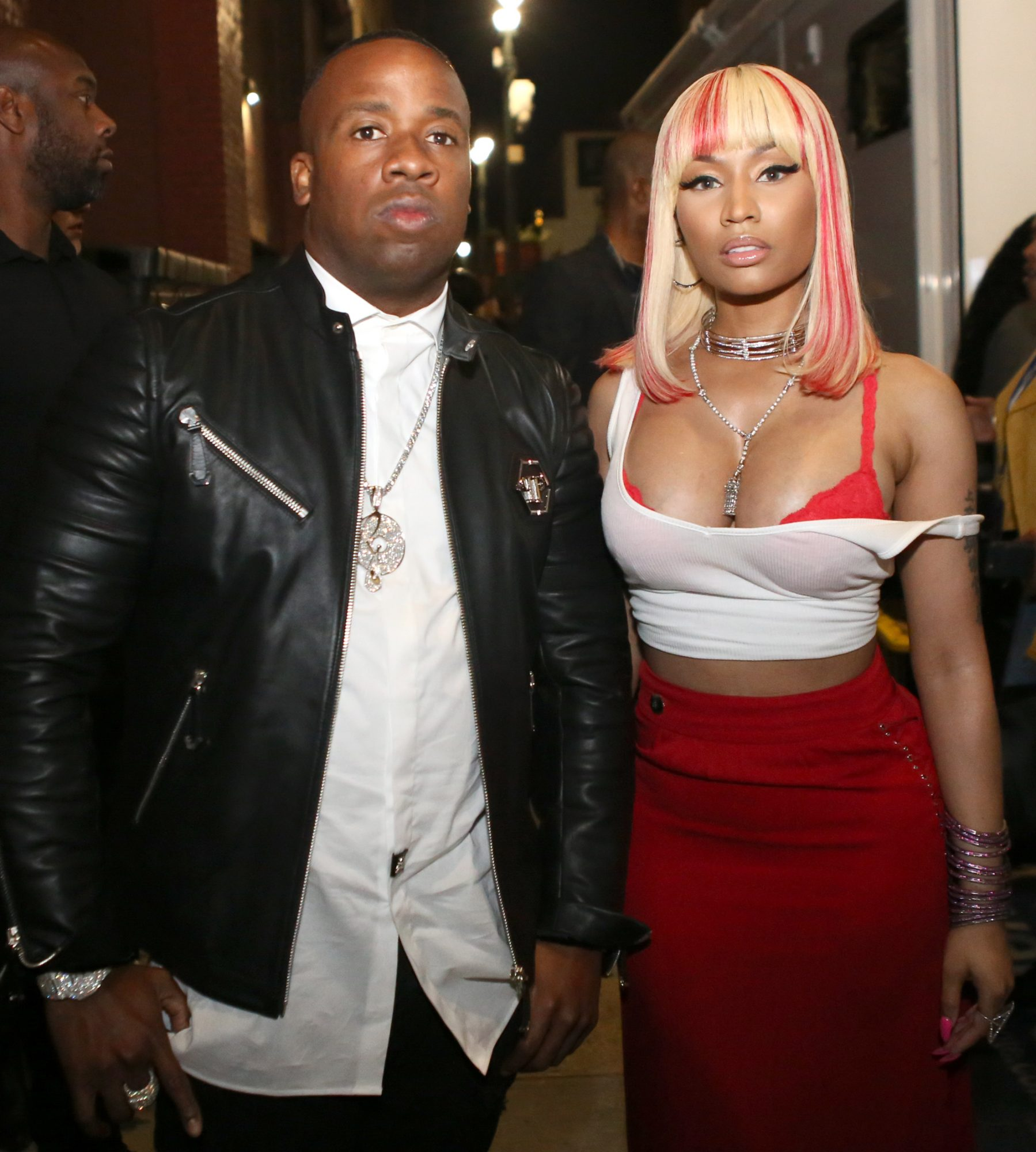 <p>Yo Gotti and Nicki Minaj</p>