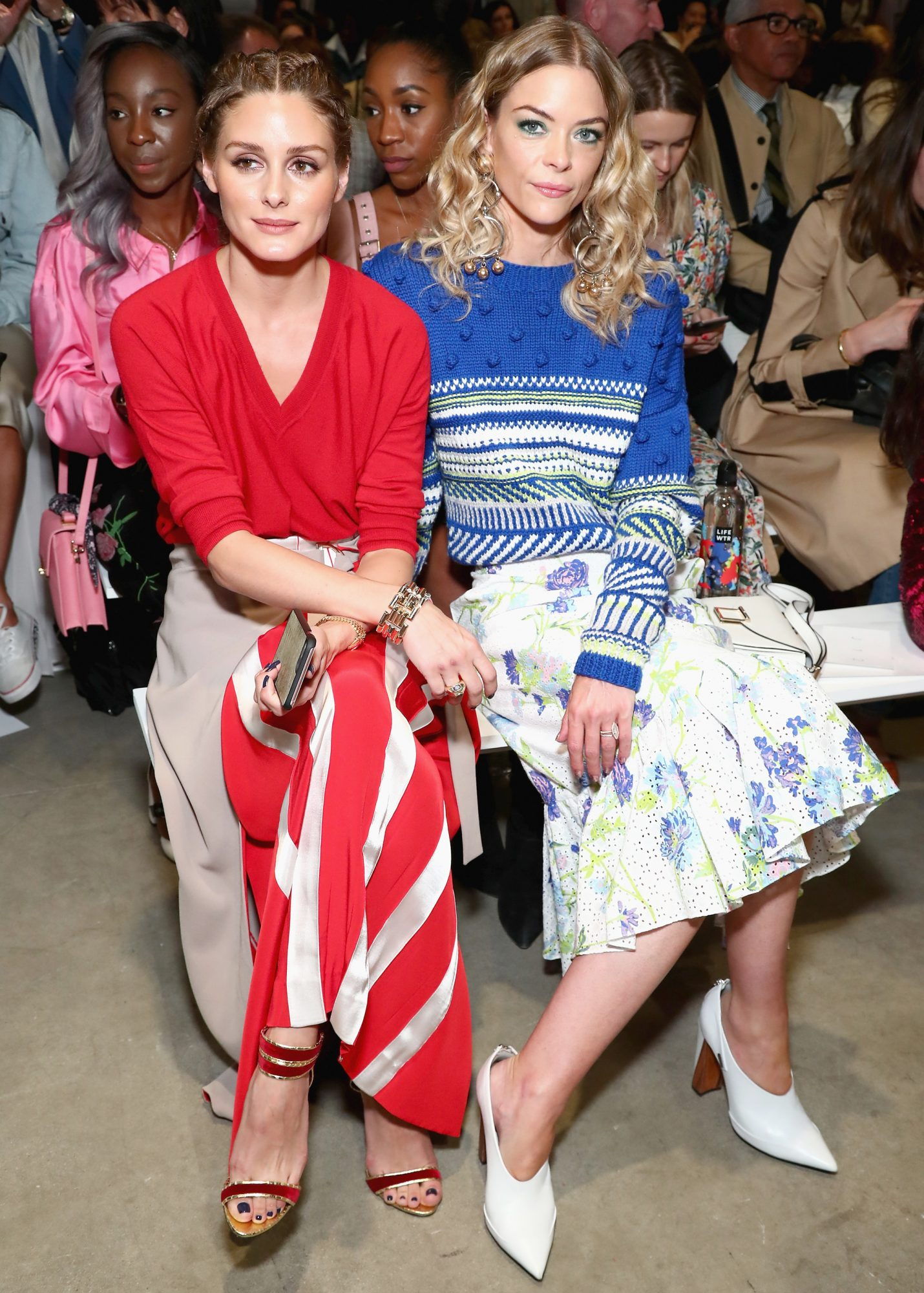 <p>Olivia Palermo and Jaime King</p>