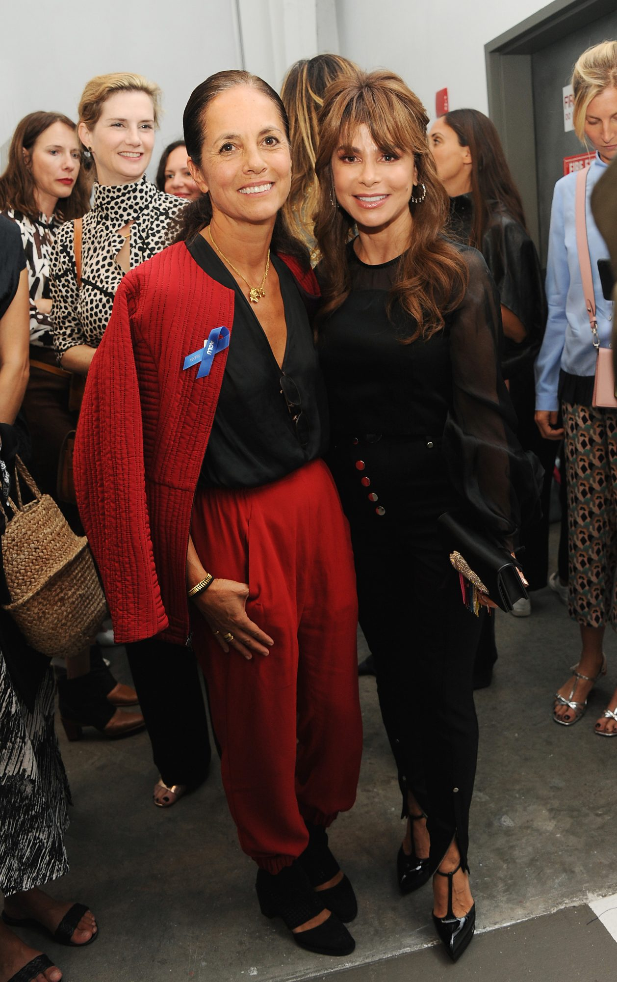 <p>Maria Cornejo and Paula Abdul </p>