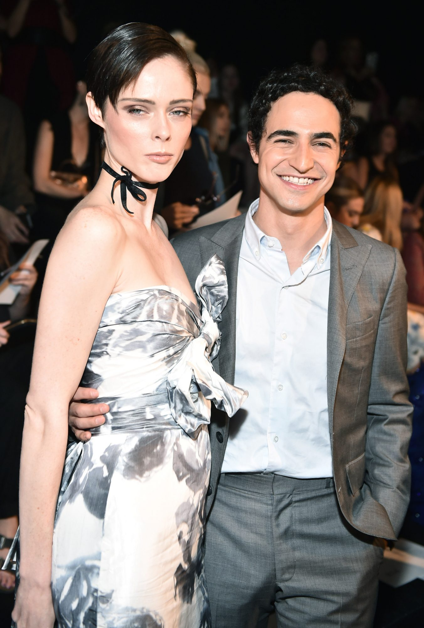 <p>Coco Rocha and Zac Posen </p>