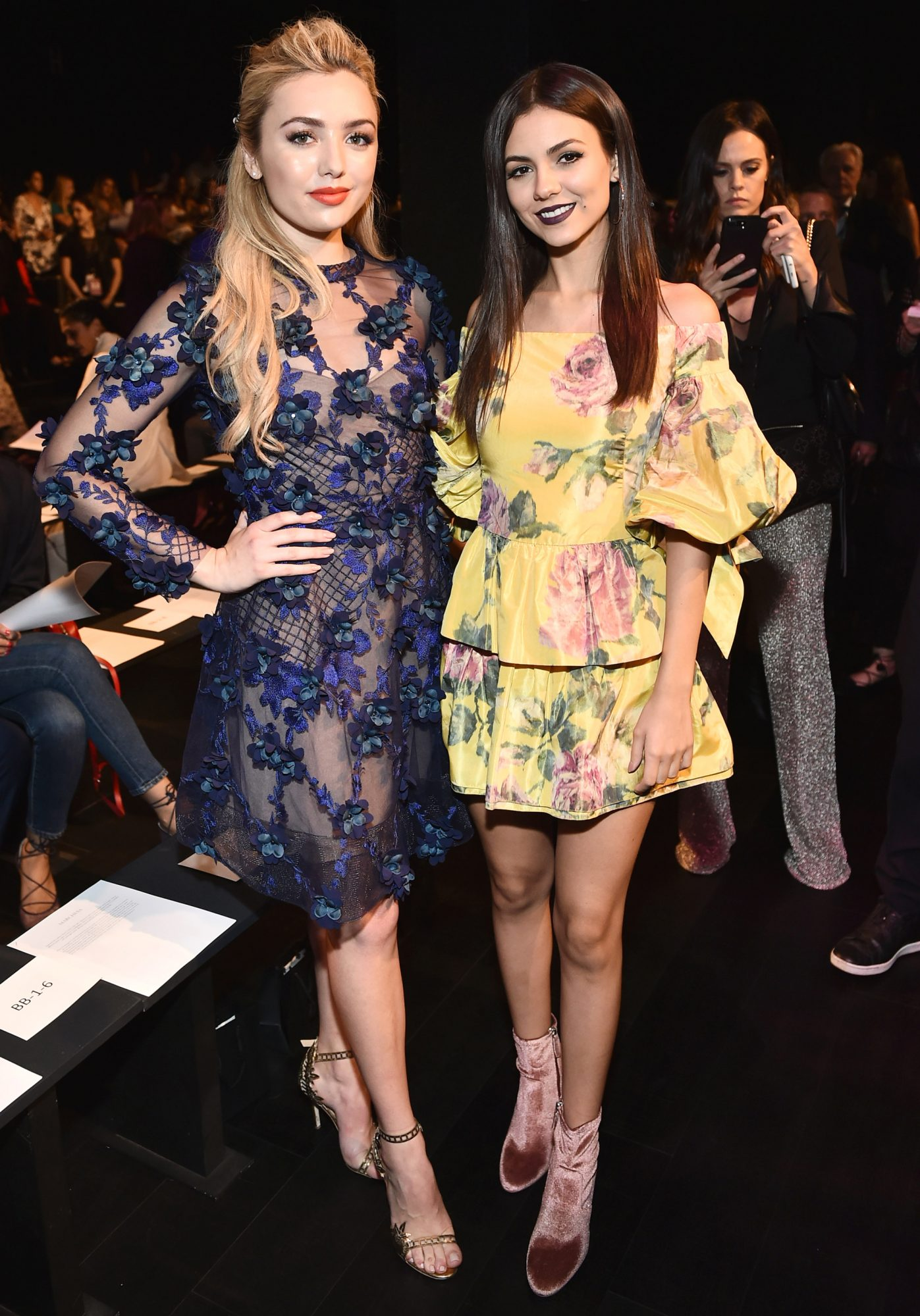 Peyton List and Victoria Justice