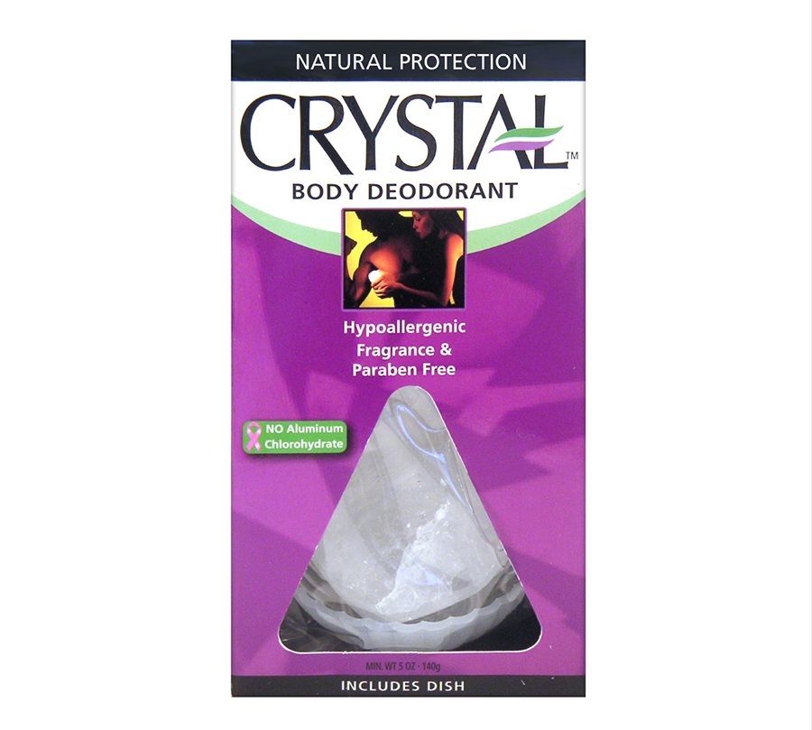 Crystal Body Rock Deodorant