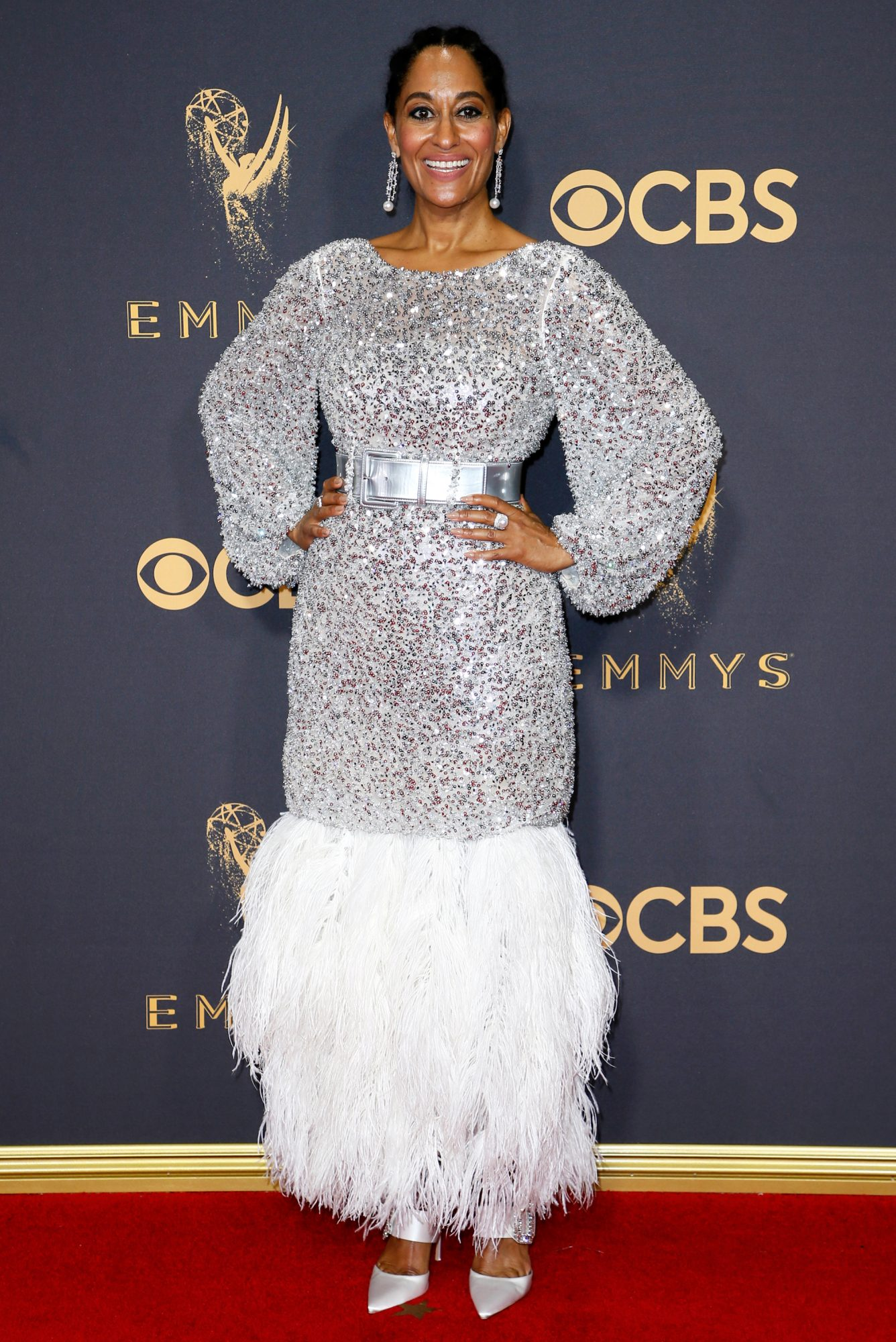 """<p>Tracee Ellis Ross in <a href=""""http://www.chanel.com/en_US/"""" target=""""_blank"""">Chanel</a> Haute Couture</p>"""