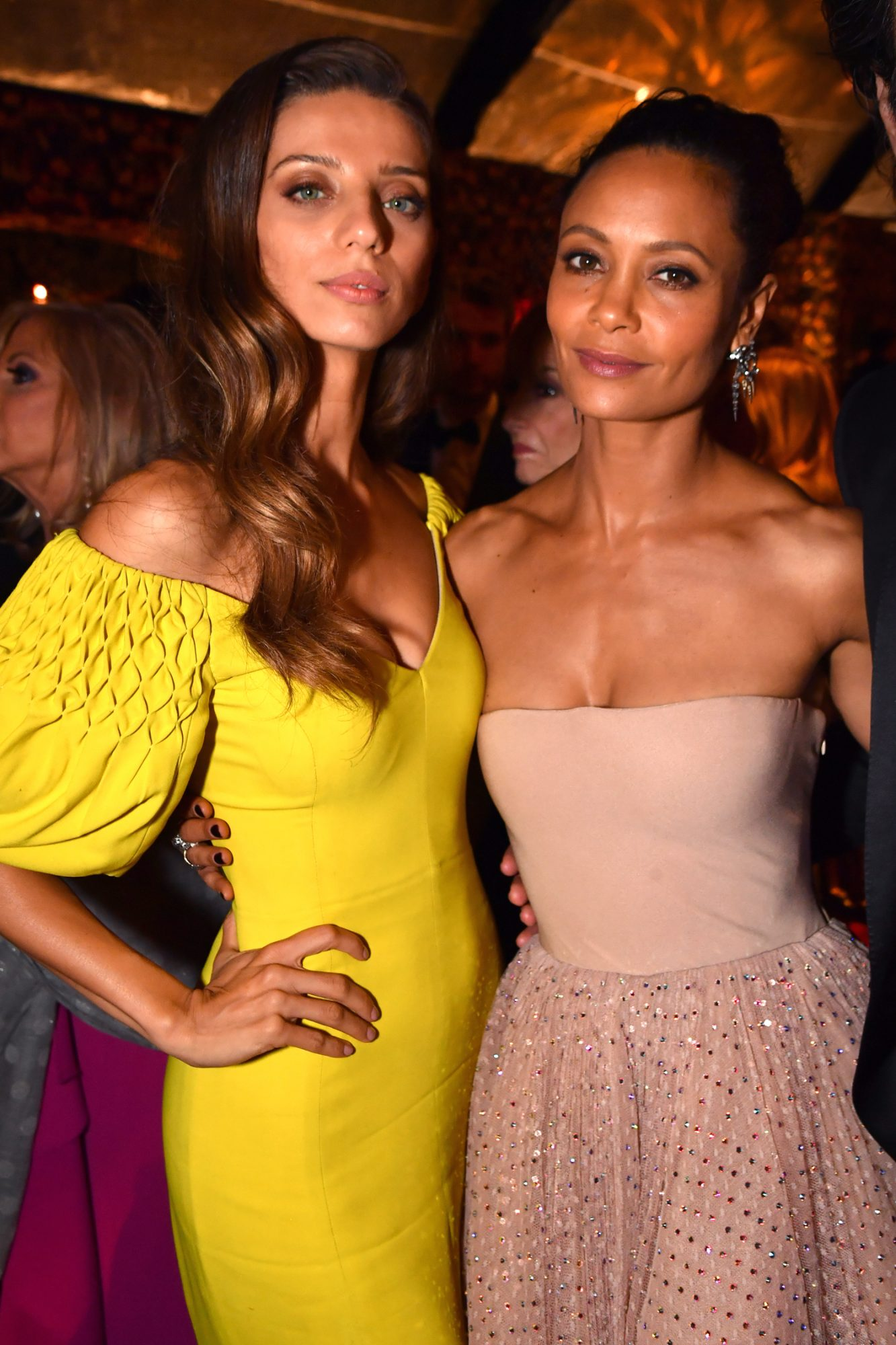 Angela Sarafyan and Thandie Newton