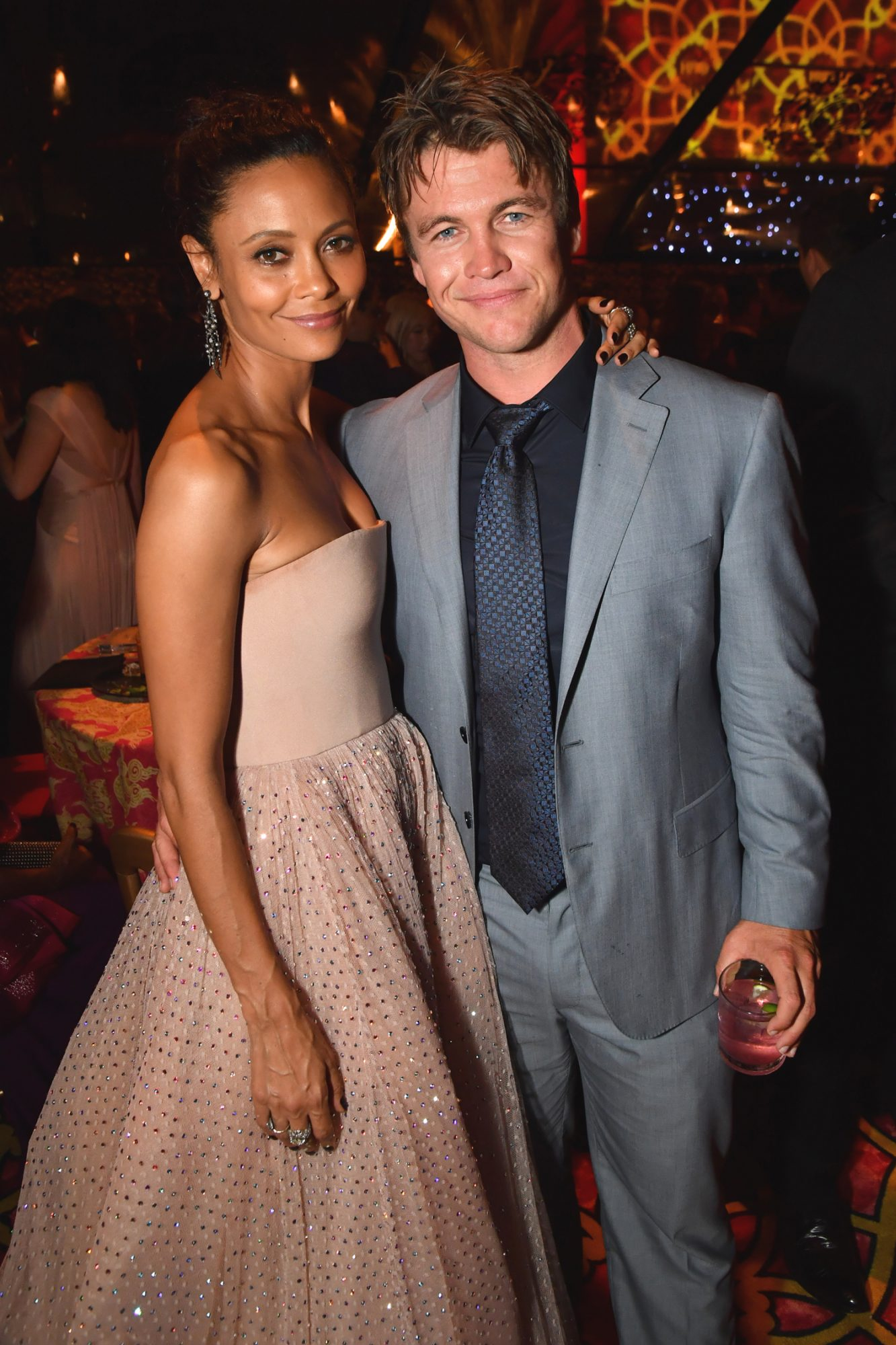 Thandie Newton and Luke Hemsworth