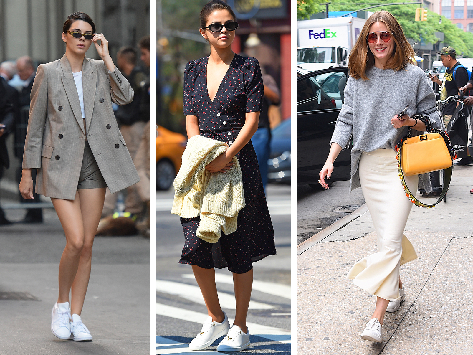 3 Fresh Ways to Make Your White Sneakers Work for Fall