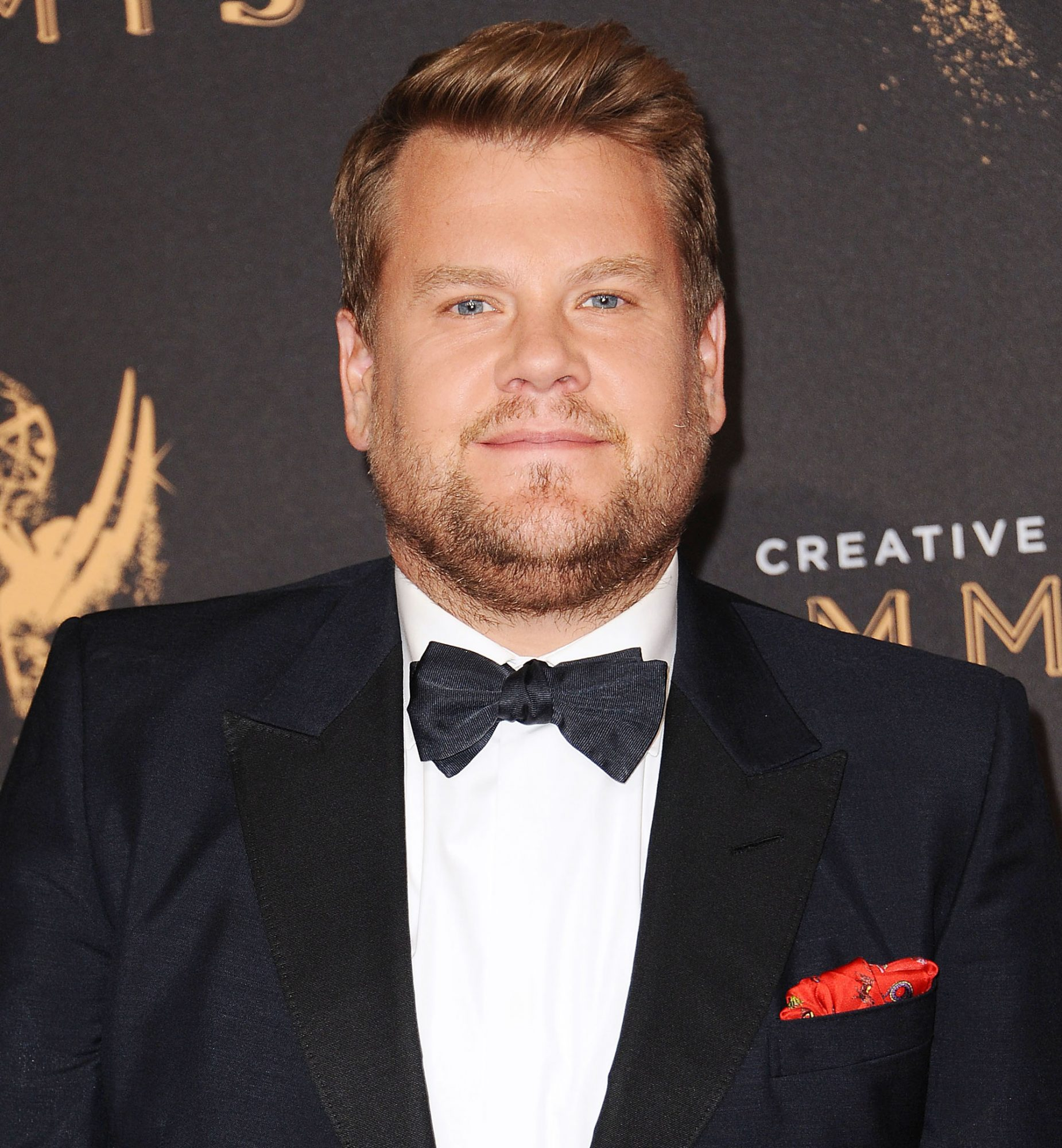 Here's How James Corden Responded to the Sean Spicer Kiss Backlash