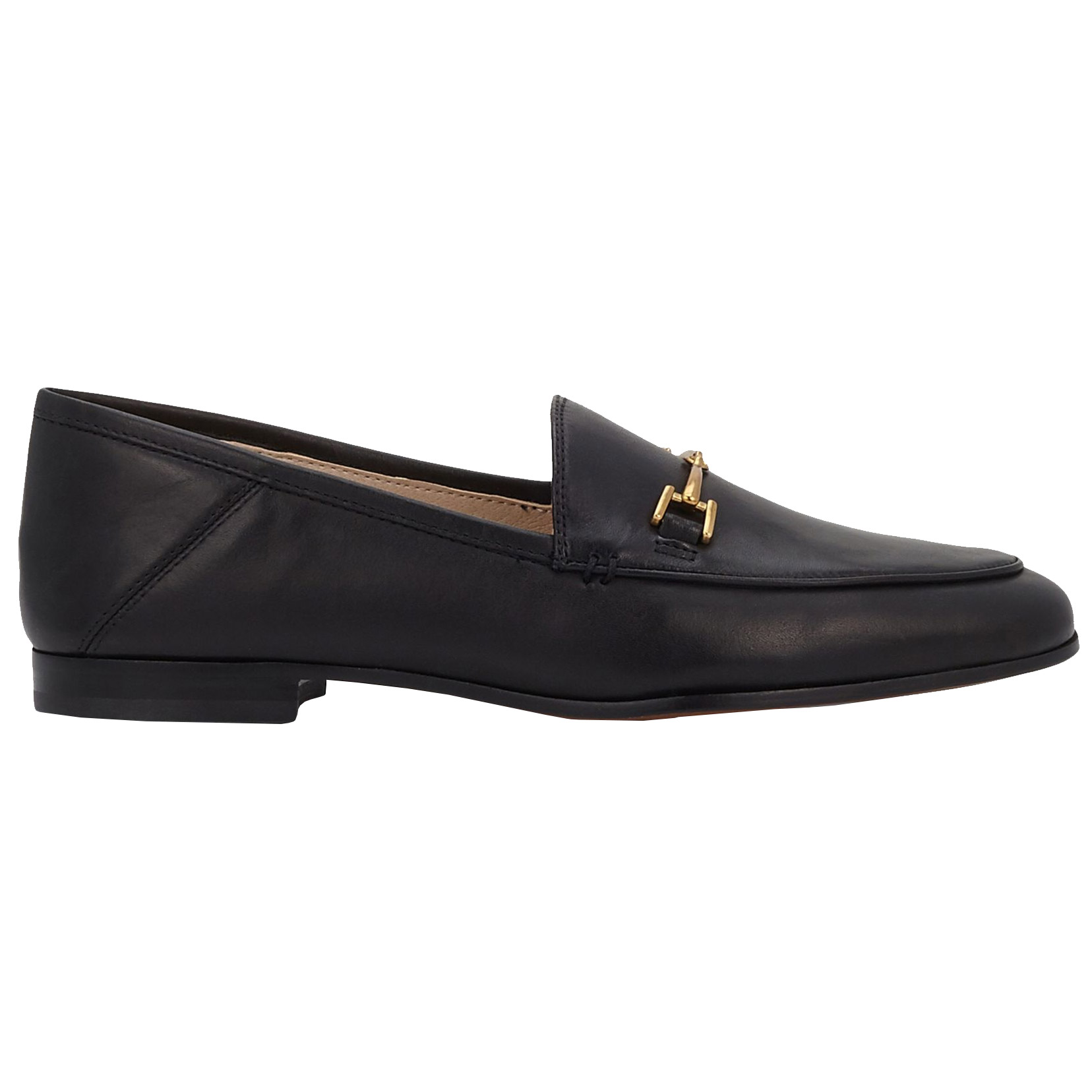 <p>LORAINE LEATHER LOAFERS</p>