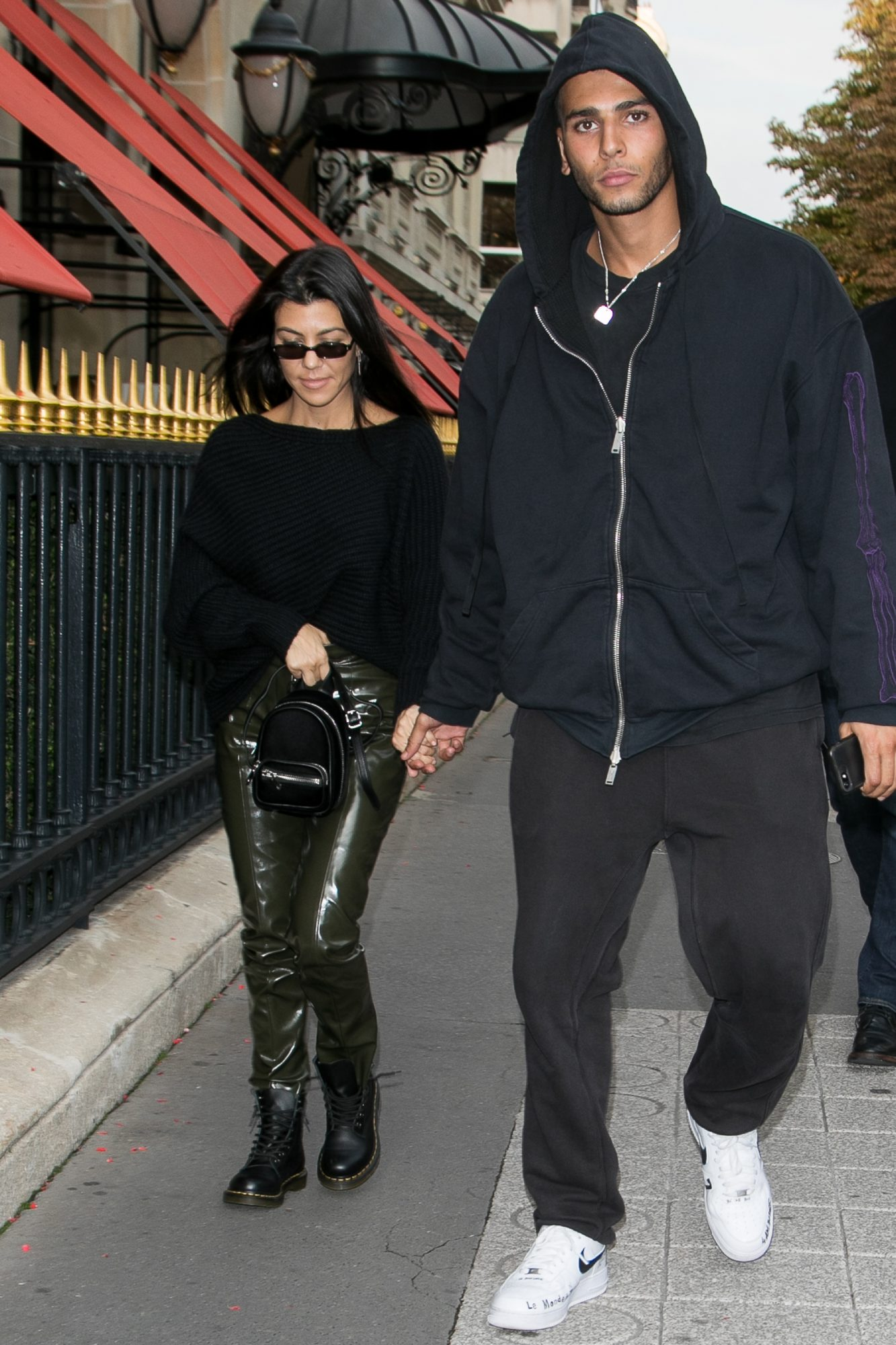 Kourtney Kardashian Takes Paris Fashion Week With