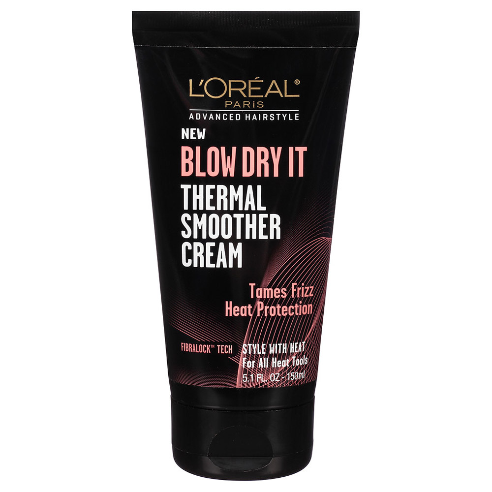 <p>L'Oreal Paris Advanced Haircare Blow Dry It Thermal Smoother Cream </p>