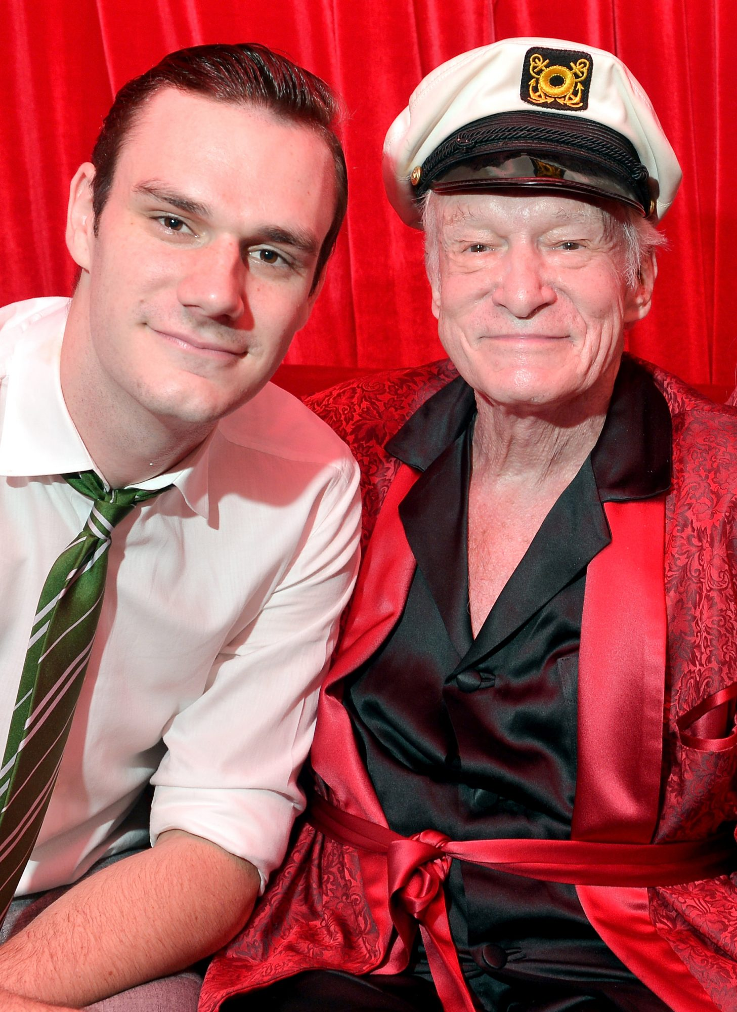 Hugh Hefner's Son Cooper Makes a Moving Tribute to His Father