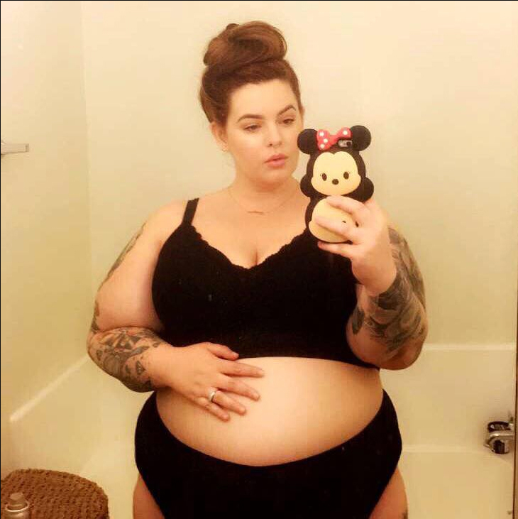 <p><strong>Tess Holliday</strong></p>