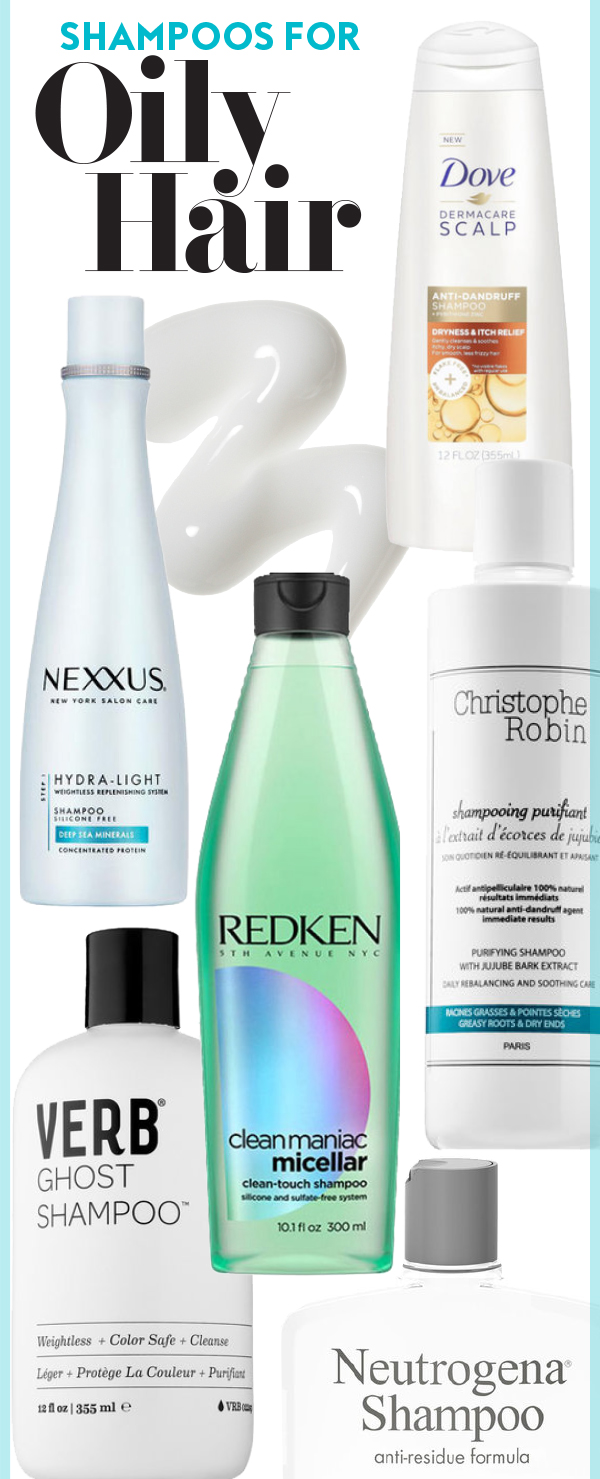 the best shampoos to use on oily hair | instyle