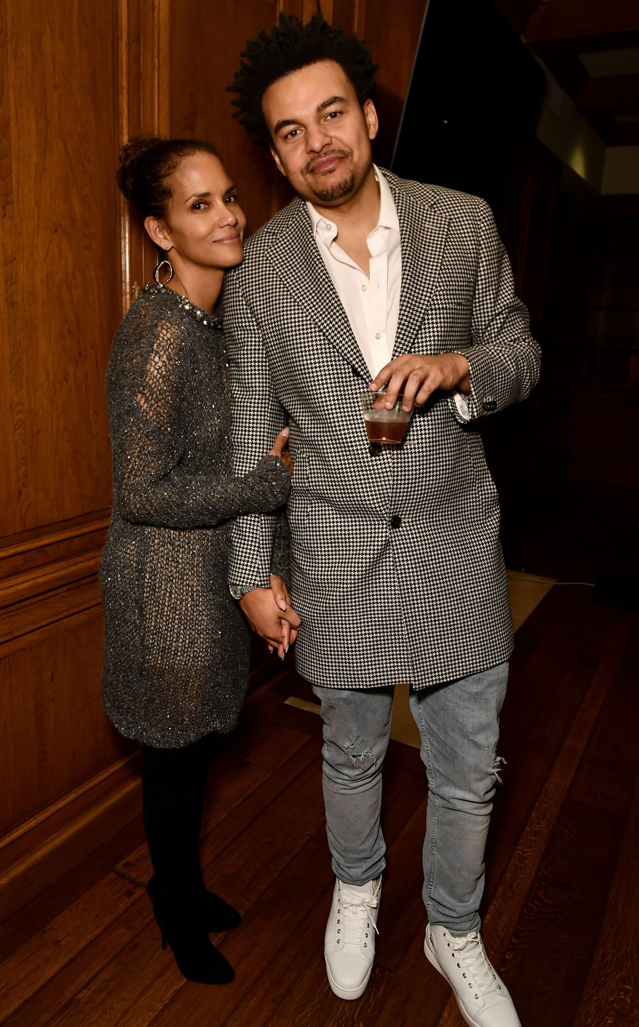 <p>Halle Berry and Alex Da Kid</p>