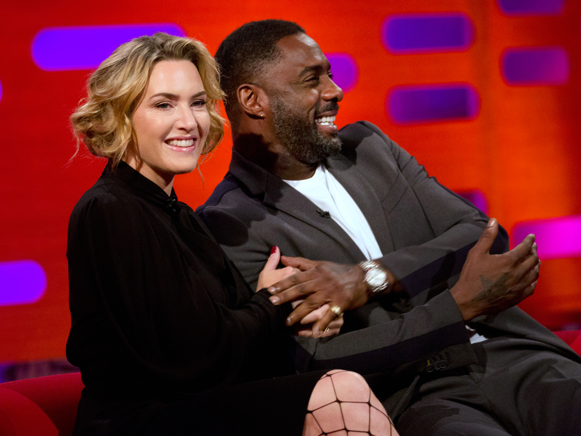 Kate Winslet Just Exposed Idris Elba's Unconventional Fetish