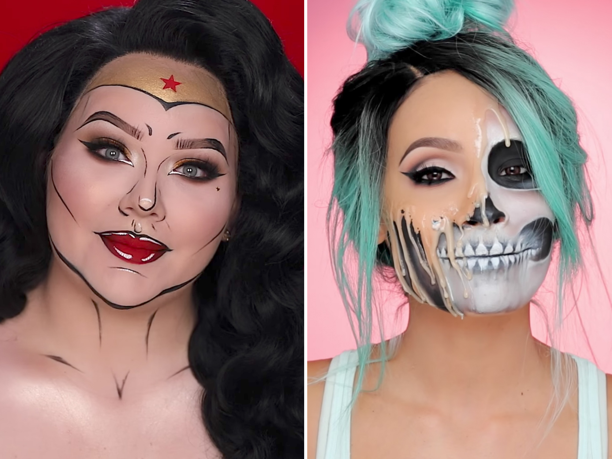 <p>Halloween Makeup Tutorials </p>